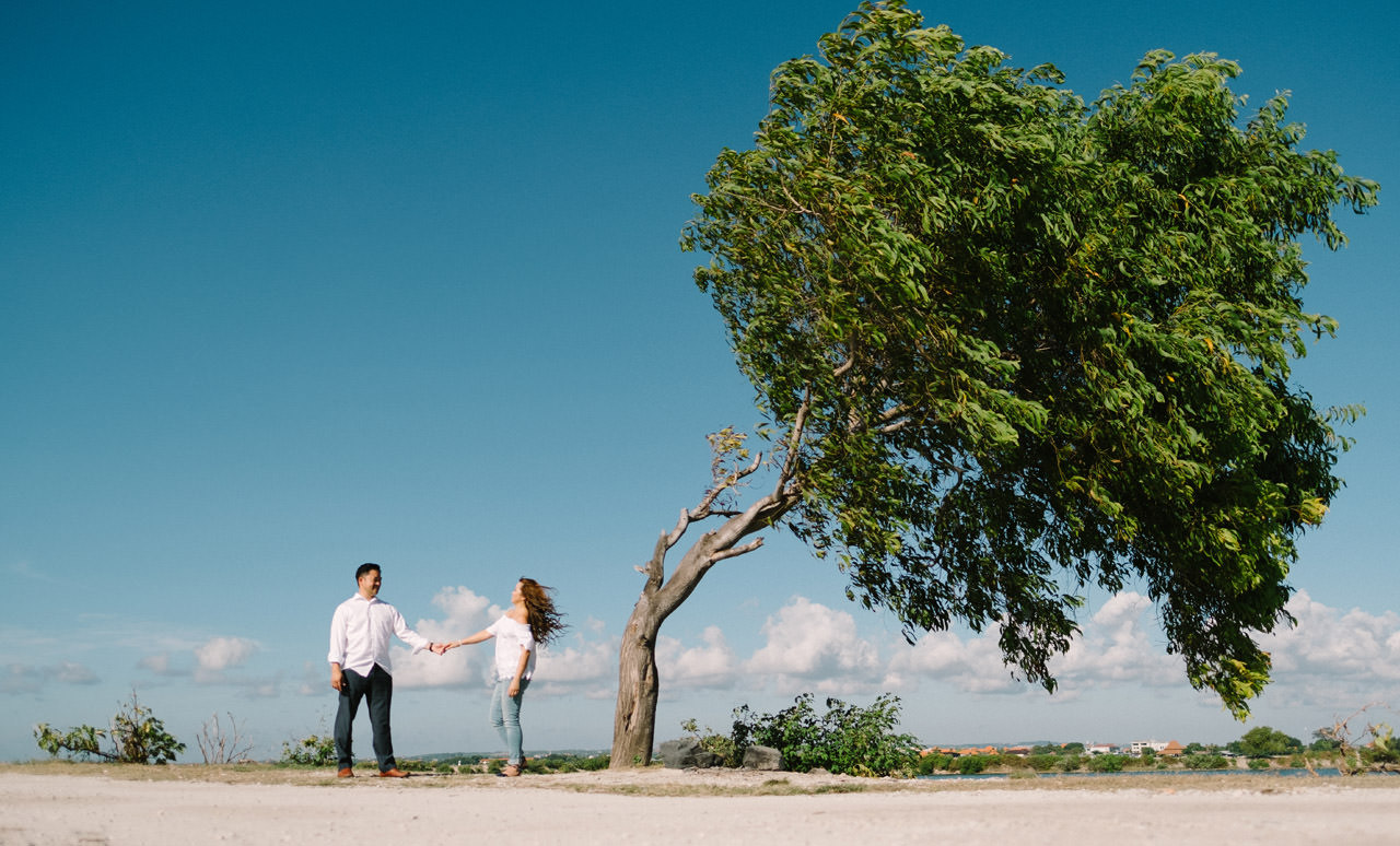 Cathy & Rob: Serangan Island Bali Pre-wedding Shoot 22