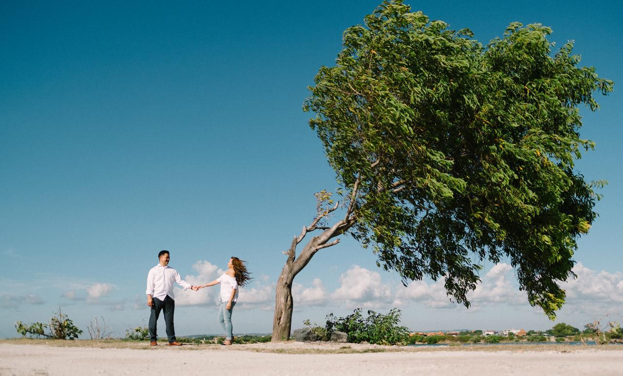 Cathy & Rob: Serangan Island Bali Pre-wedding Shoot 22