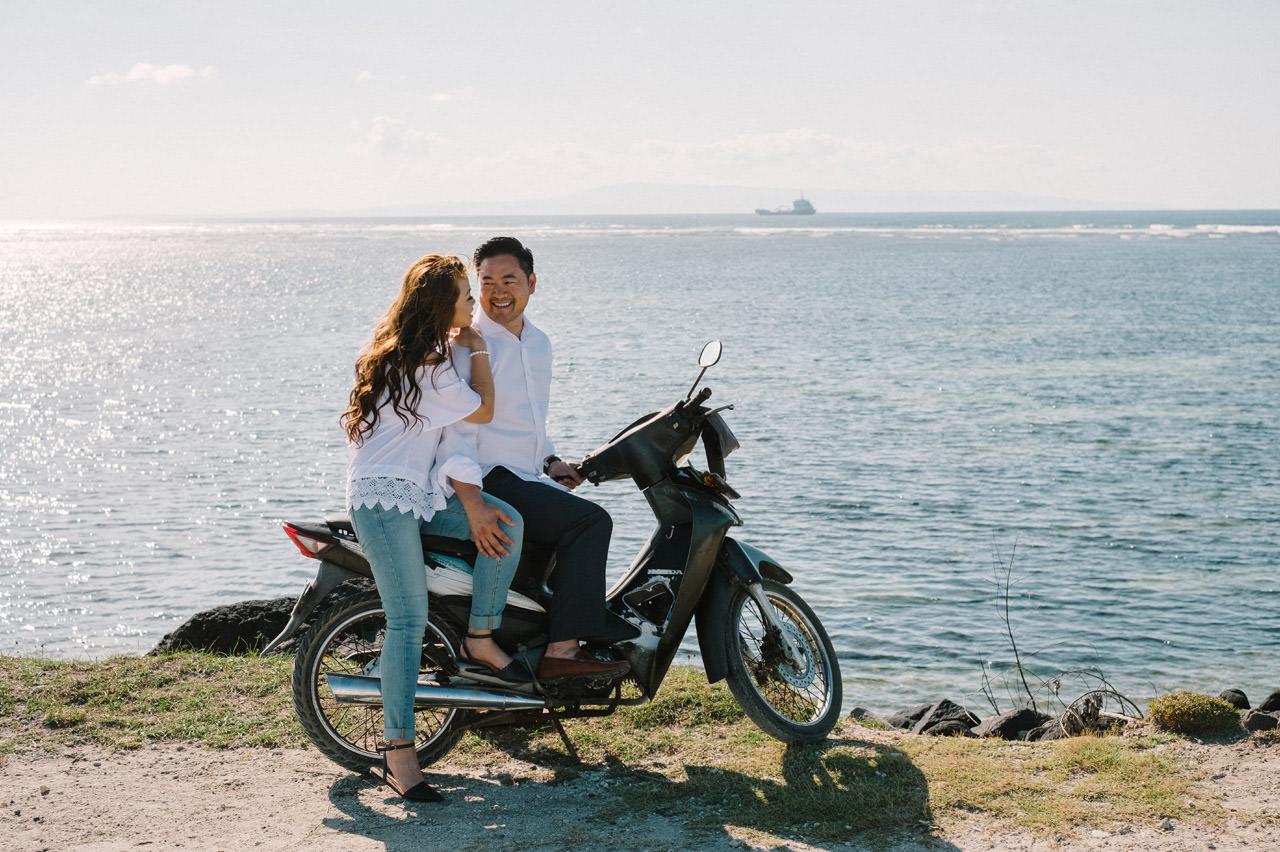 Cathy & Rob: Serangan Island Bali Pre-wedding Shoot 23
