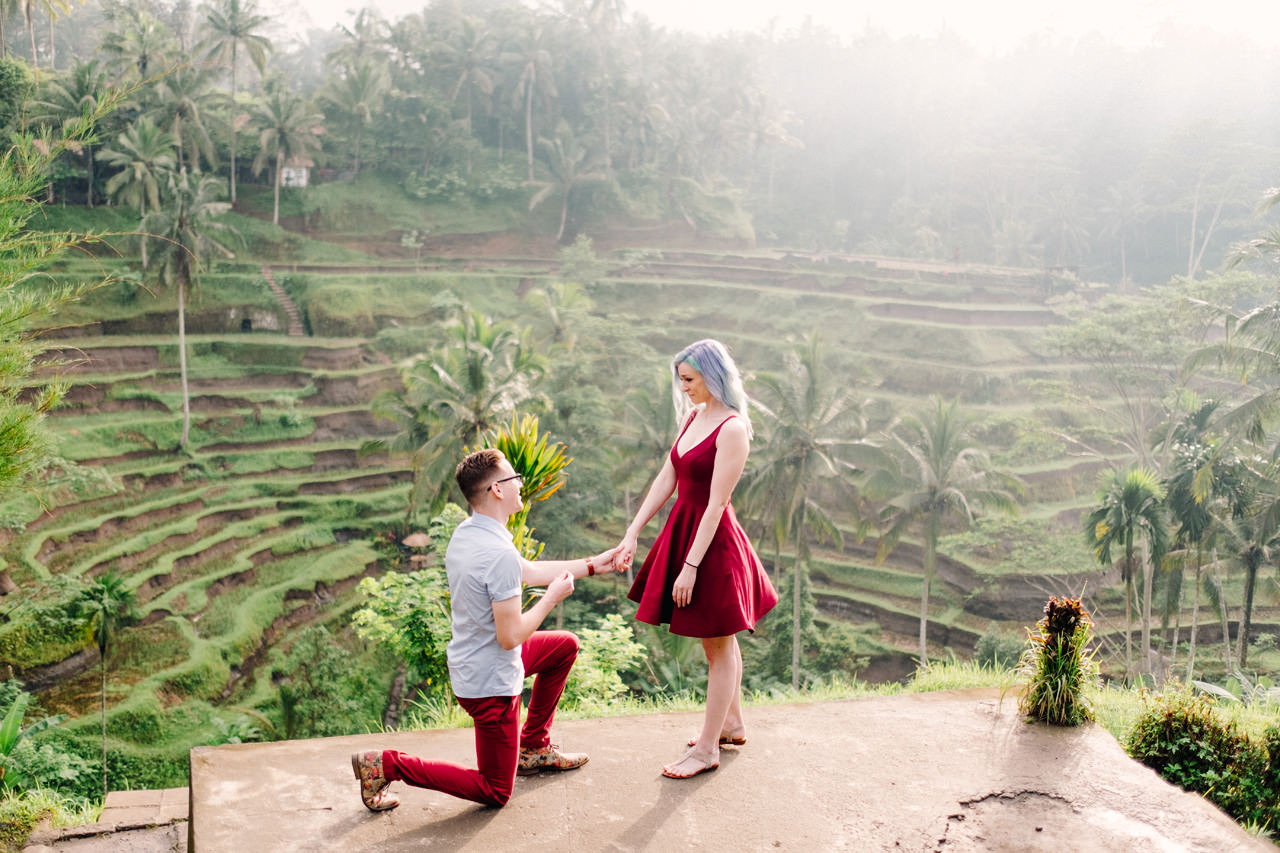 C&T: Romantic Bali Marriage Proposal 2