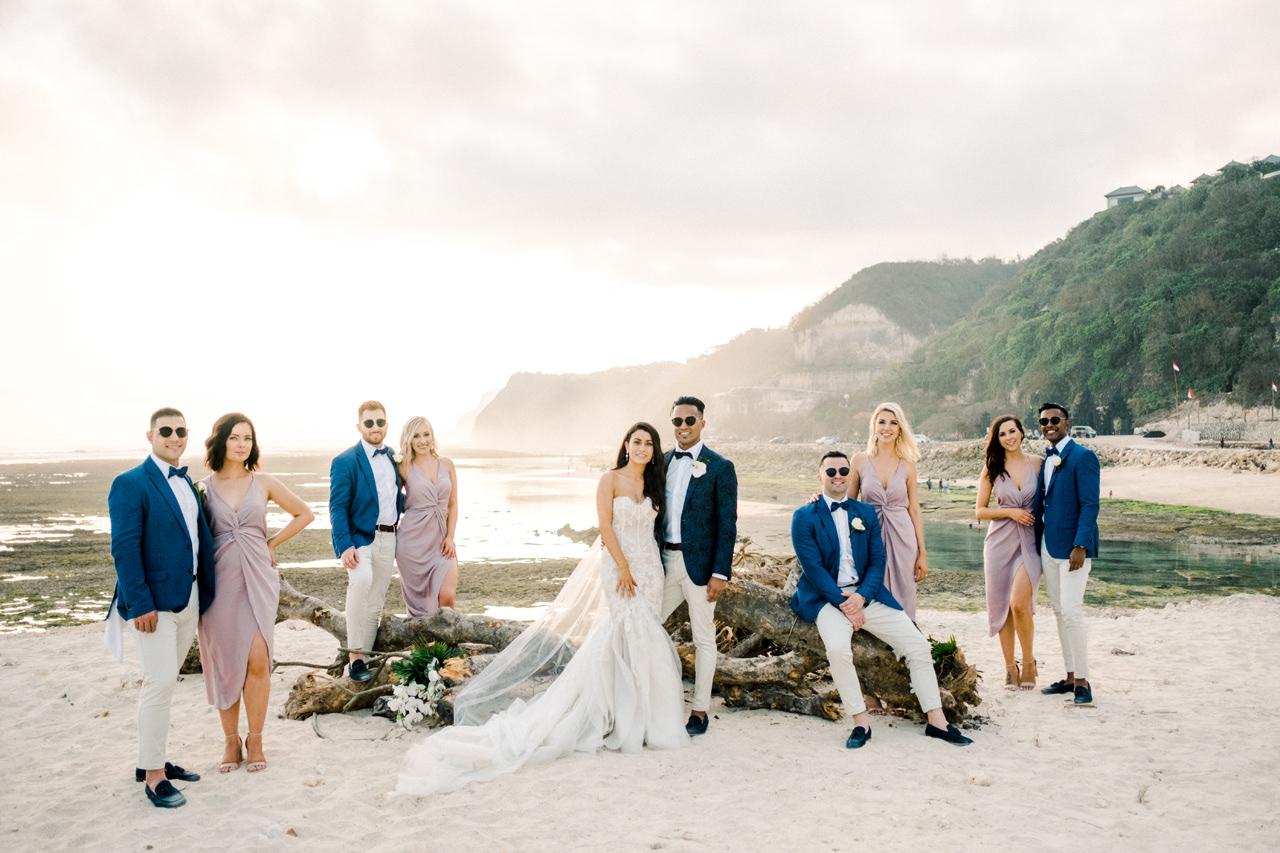 D&A: A Glamorous Villa Karang Putih Bali Wedding 31