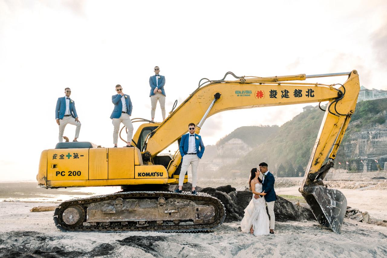 D&A: A Glamorous Villa Karang Putih Bali Wedding 33