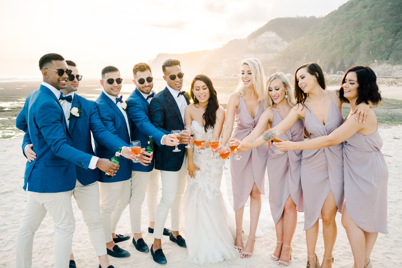 D&A: A Glamorous Villa Karang Putih Bali Wedding 36
