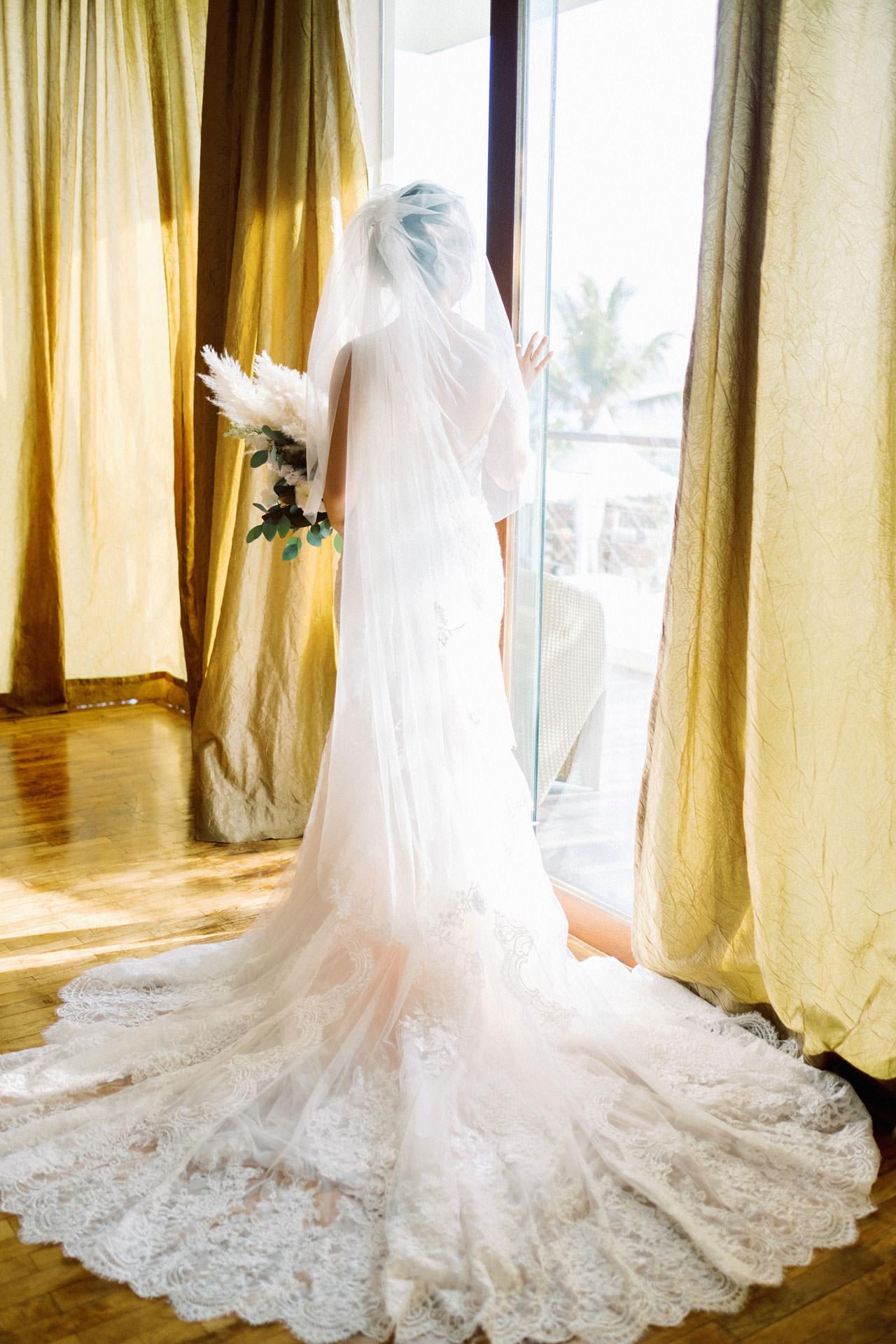 Beachfront Villa Phalosa Seminyak Wedding 28