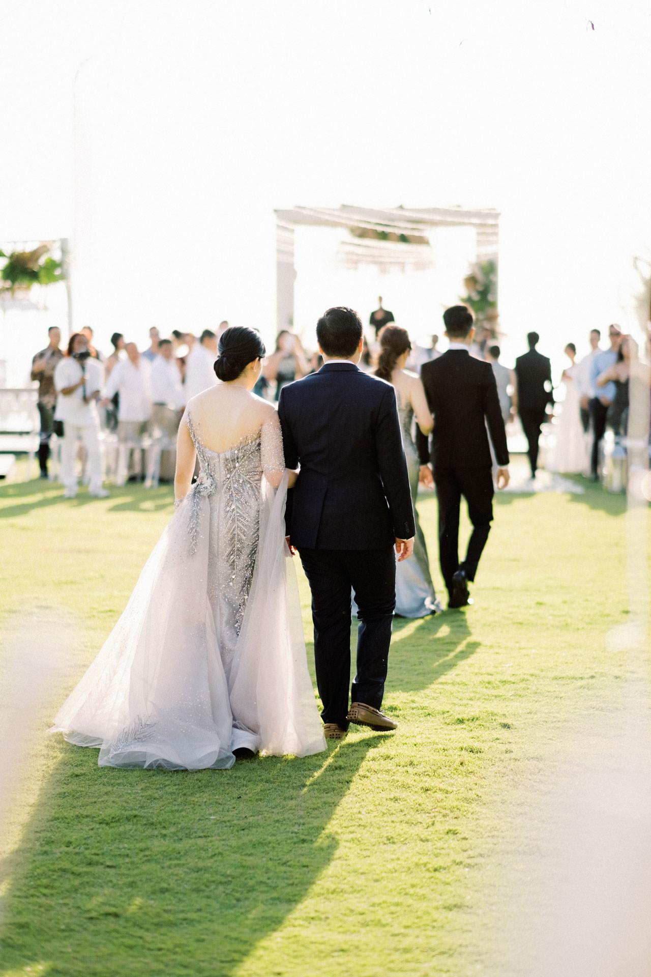 Beachfront Villa Phalosa Seminyak Wedding 30