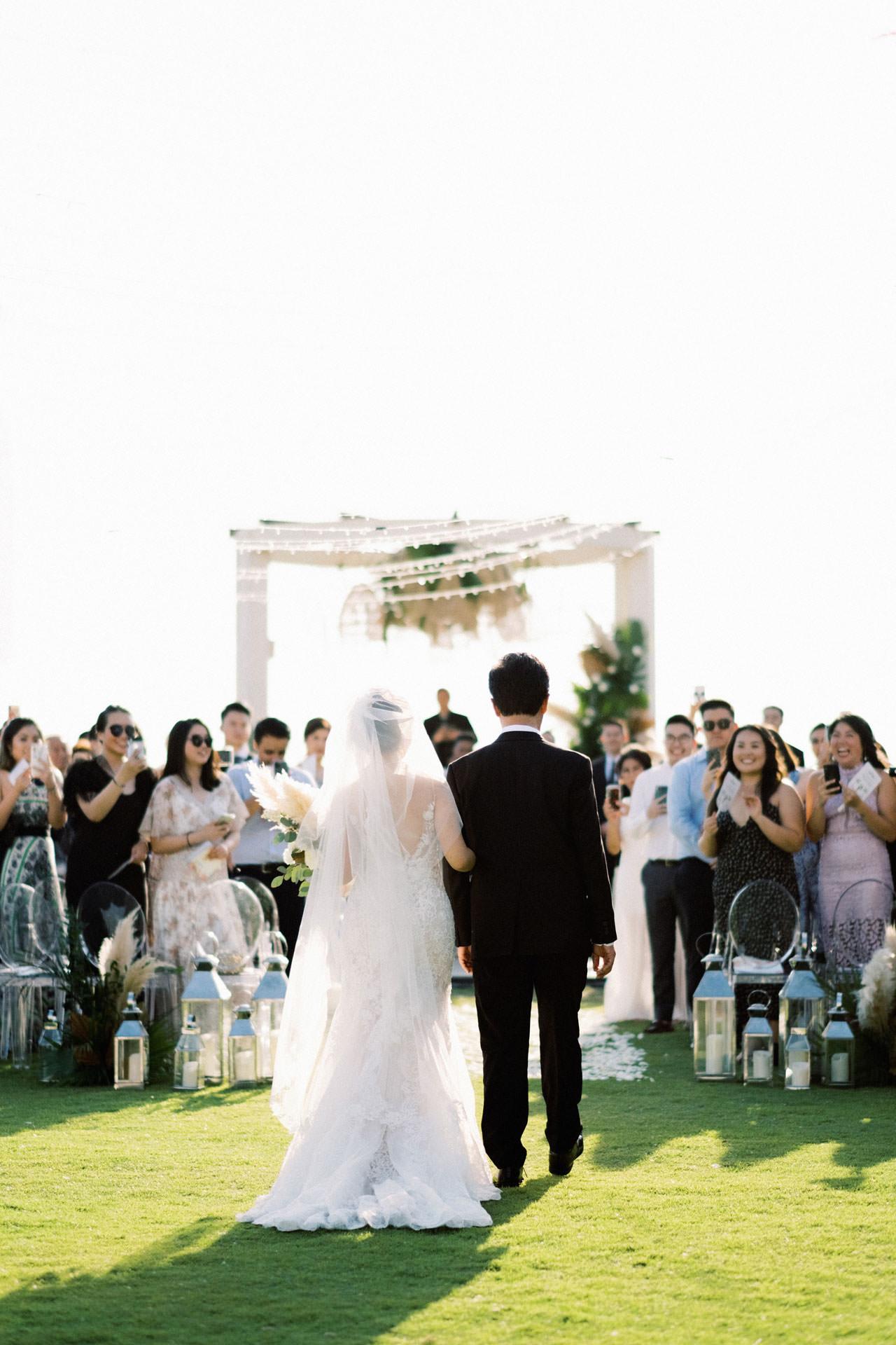 Beachfront Villa Phalosa Seminyak Wedding 31