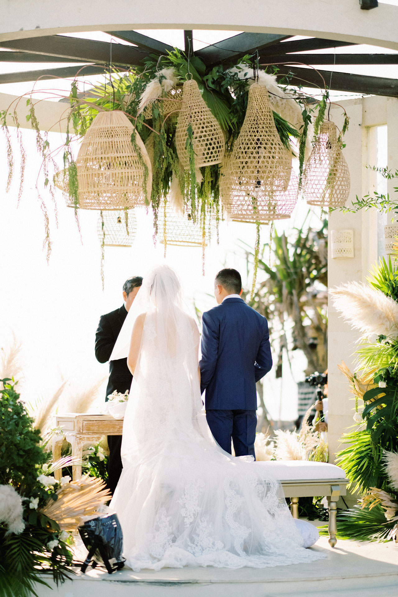 Beachfront Villa Phalosa Seminyak Wedding 32