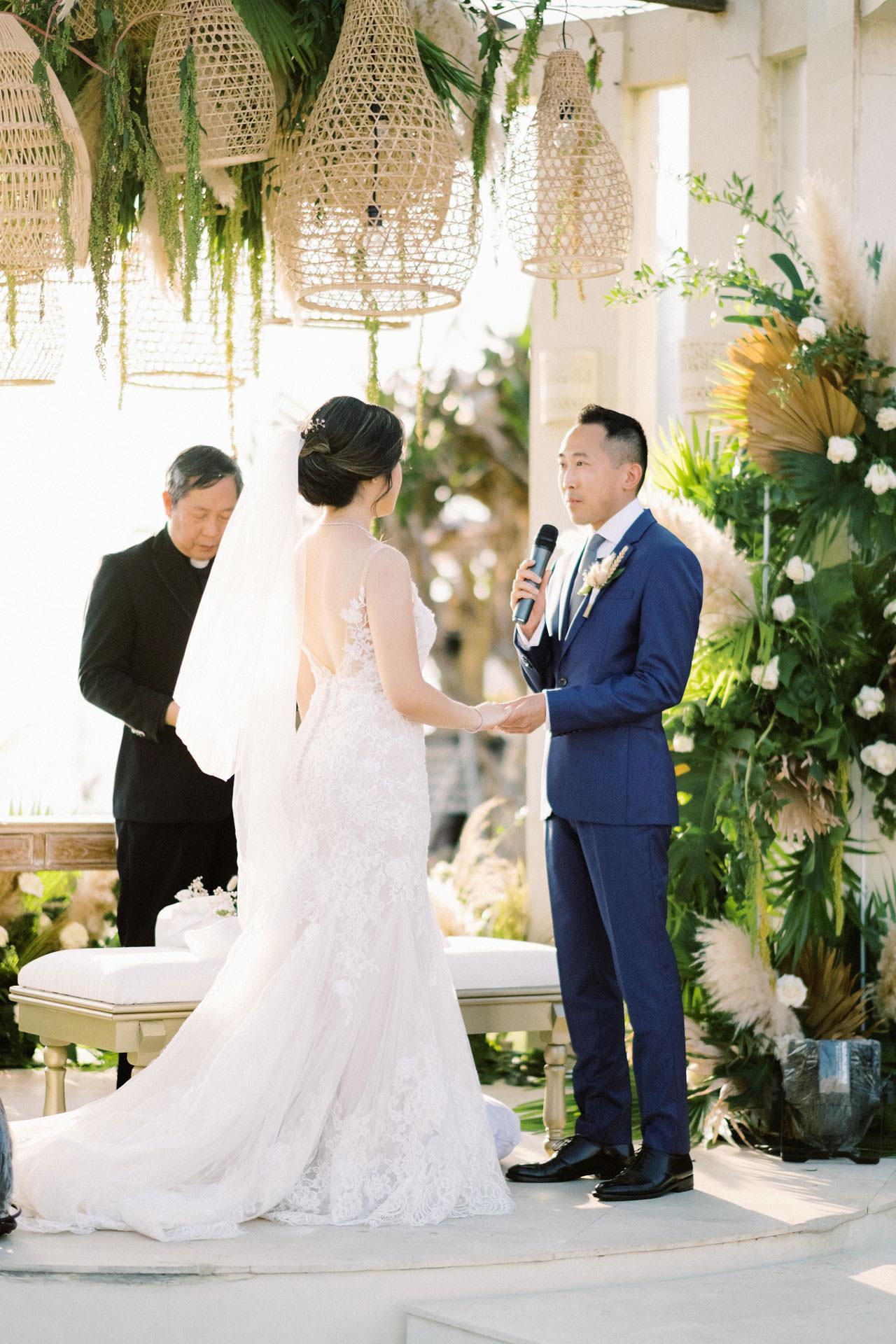 Beachfront Villa Phalosa Seminyak Wedding 34