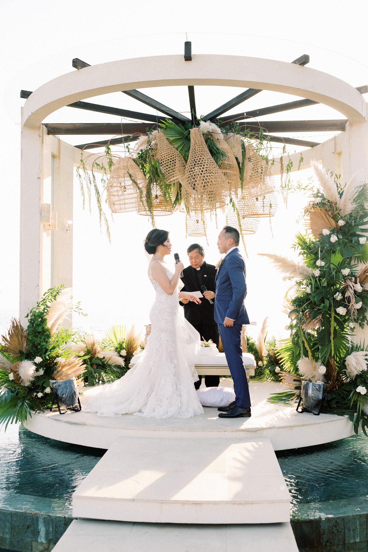 Beachfront Villa Phalosa Seminyak Wedding 35