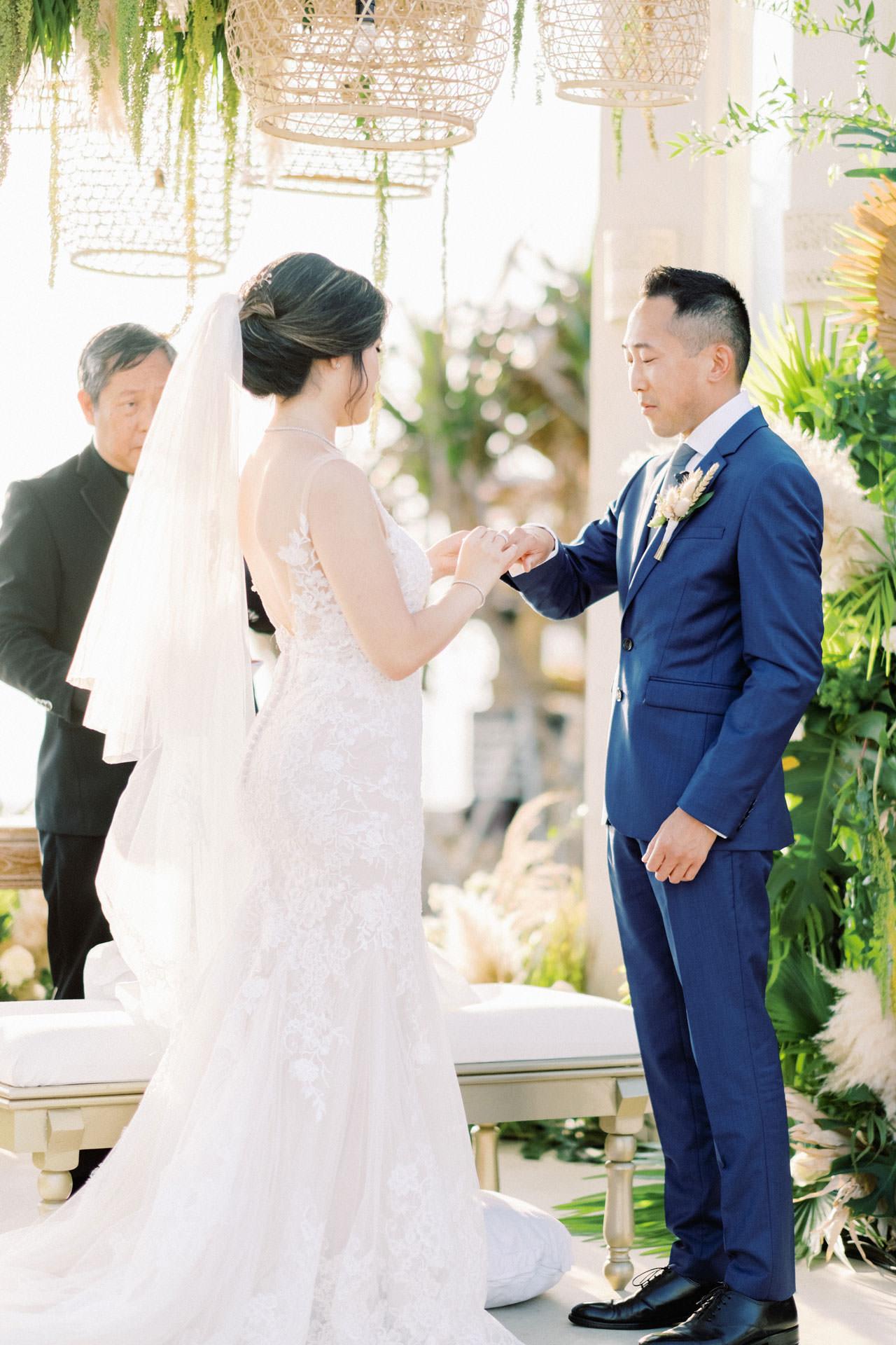 Beachfront Villa Phalosa Seminyak Wedding 37