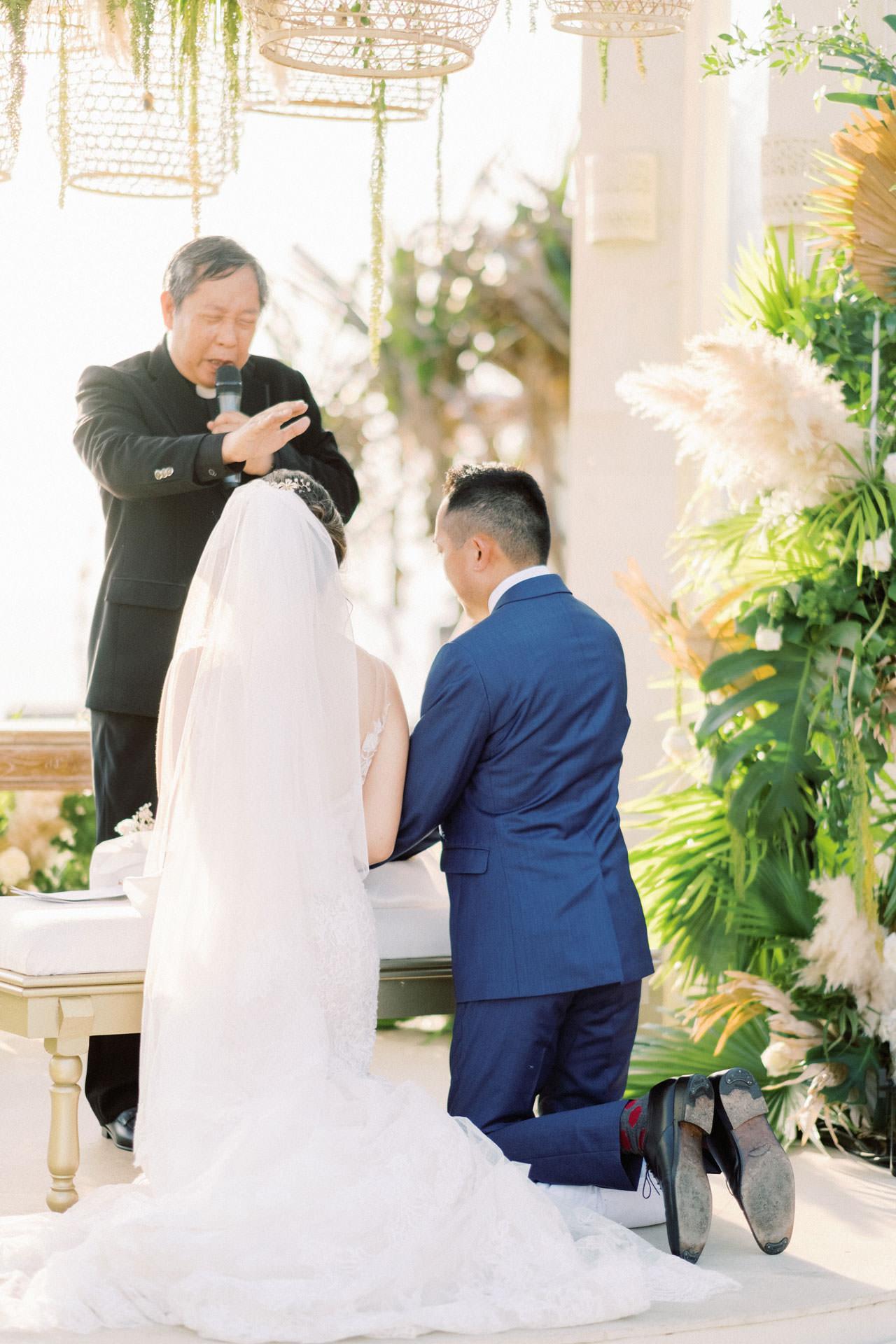 Beachfront Villa Phalosa Seminyak Wedding 38
