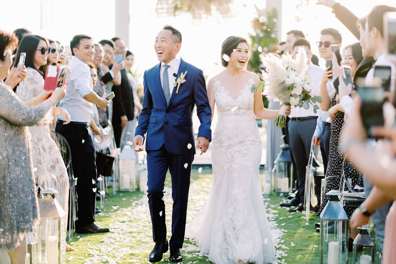 Beachfront Villa Phalosa Seminyak Wedding 39