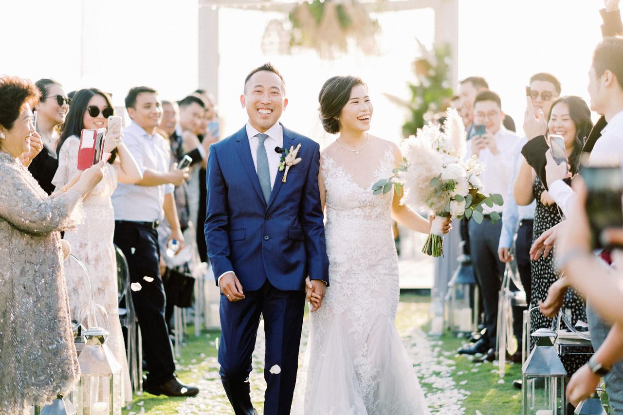 Beachfront Villa Phalosa Seminyak Wedding 40