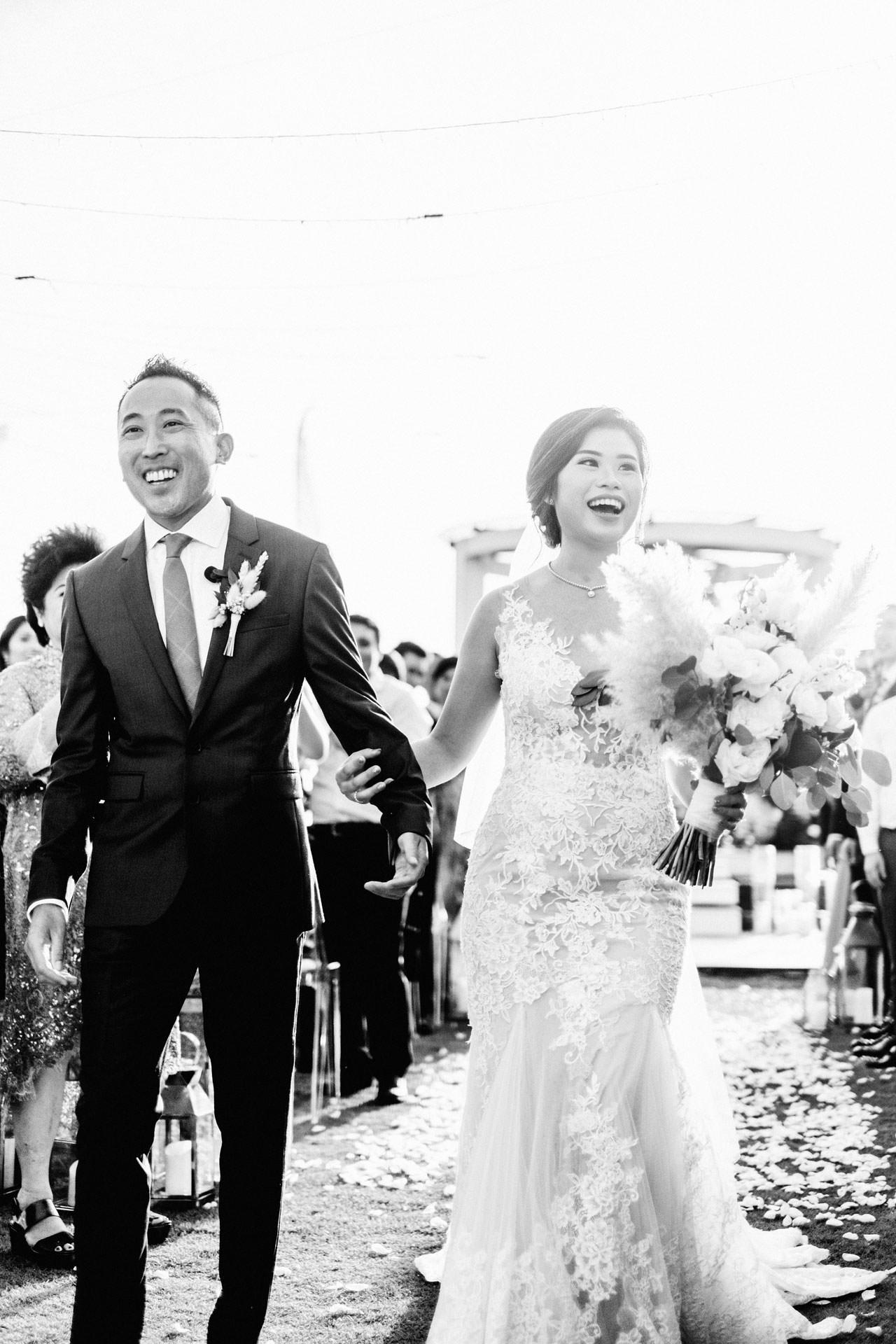 Beachfront Villa Phalosa Seminyak Wedding 41