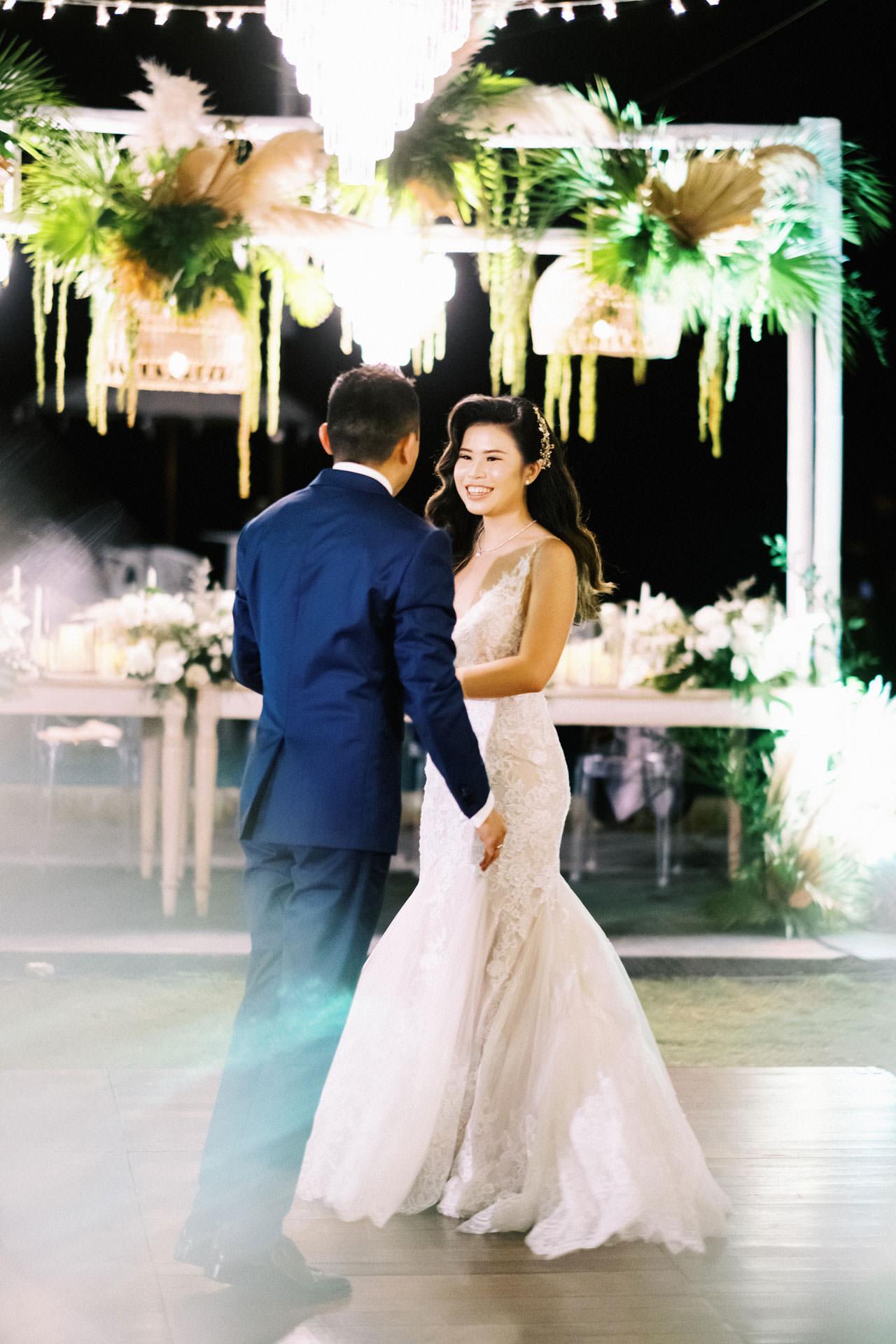 Beachfront Villa Phalosa Seminyak Wedding 60