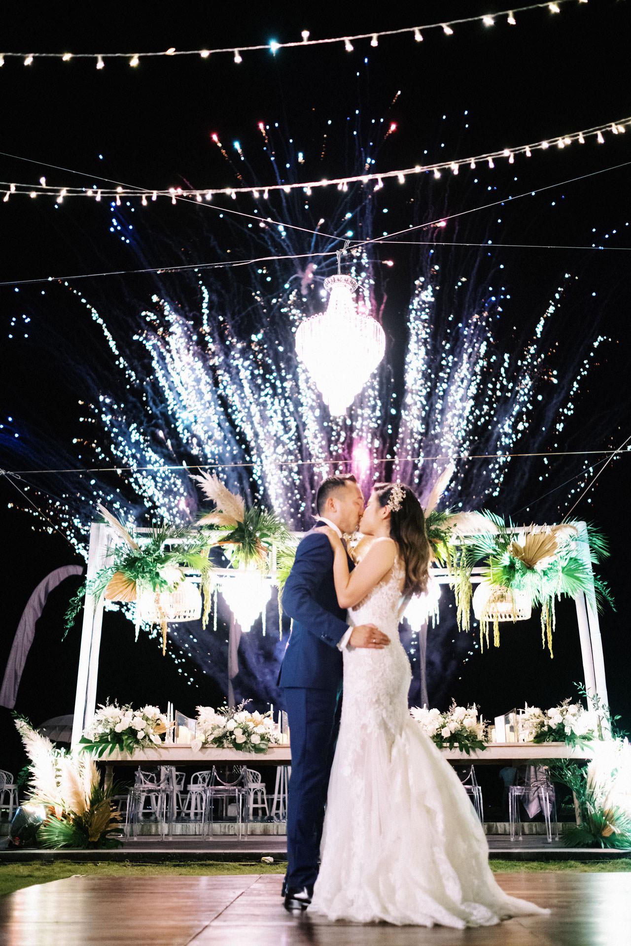 Beachfront Villa Phalosa Seminyak Wedding 61