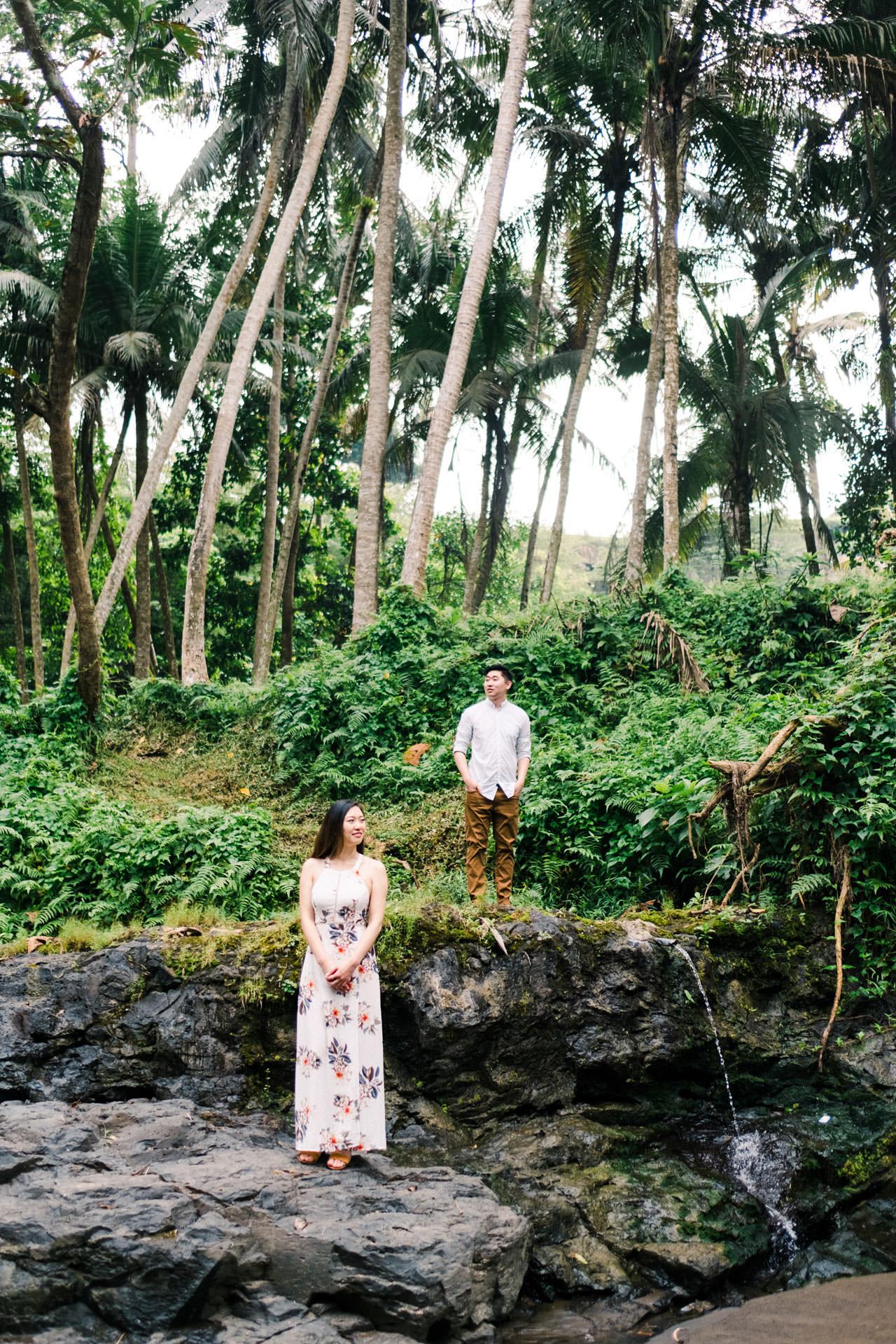Adventurous Waterfall Surprise Proposal - Bali Vacation Proposal Ideas 3