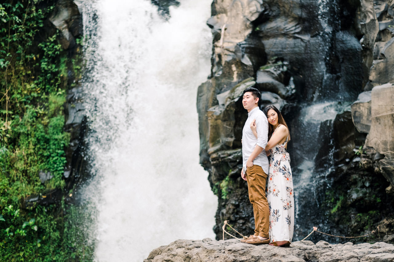 Adventurous Waterfall Surprise Proposal - Bali Vacation Proposal Ideas 5
