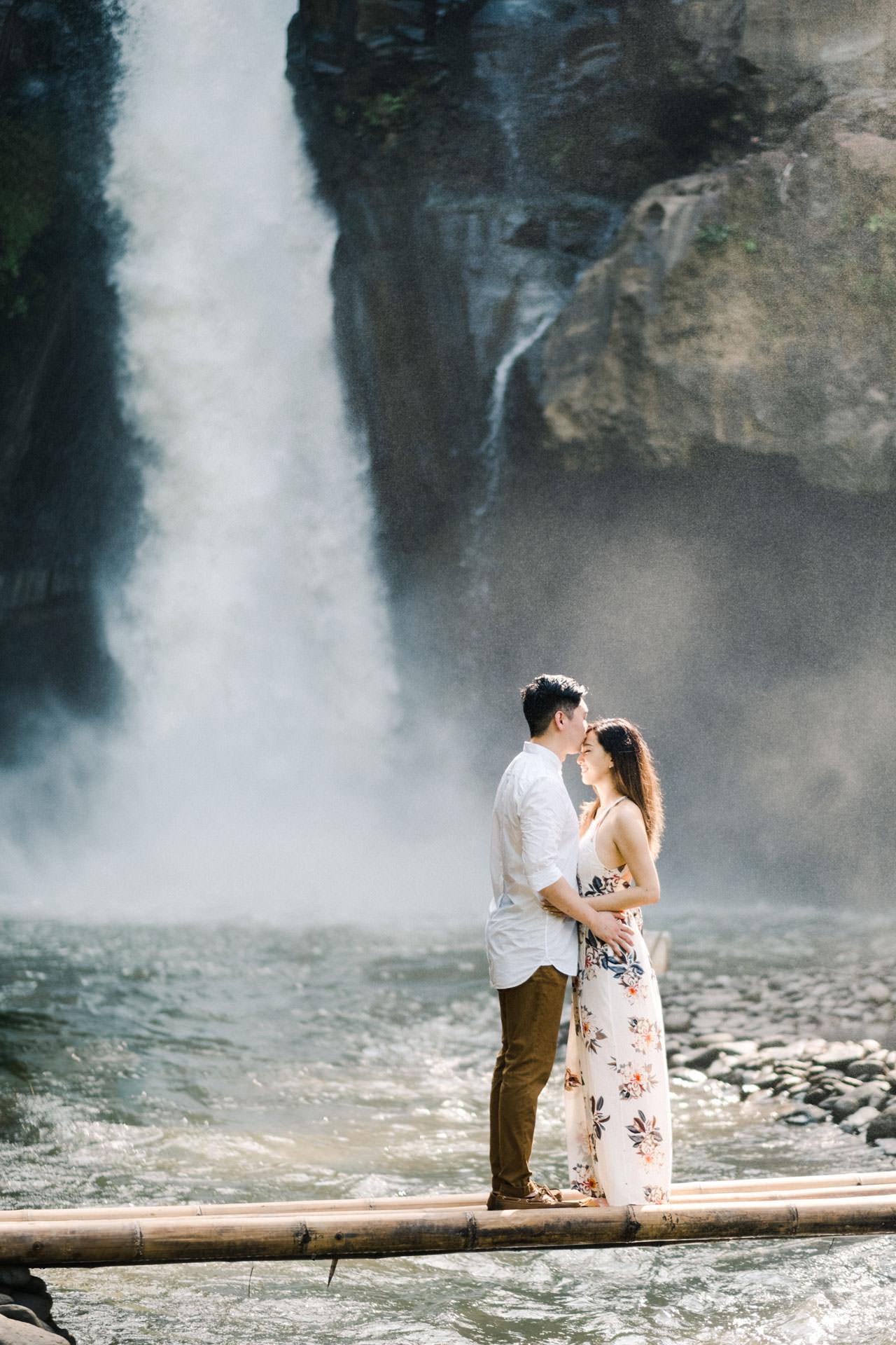 Adventurous Waterfall Surprise Proposal - Bali Vacation Proposal Ideas 9