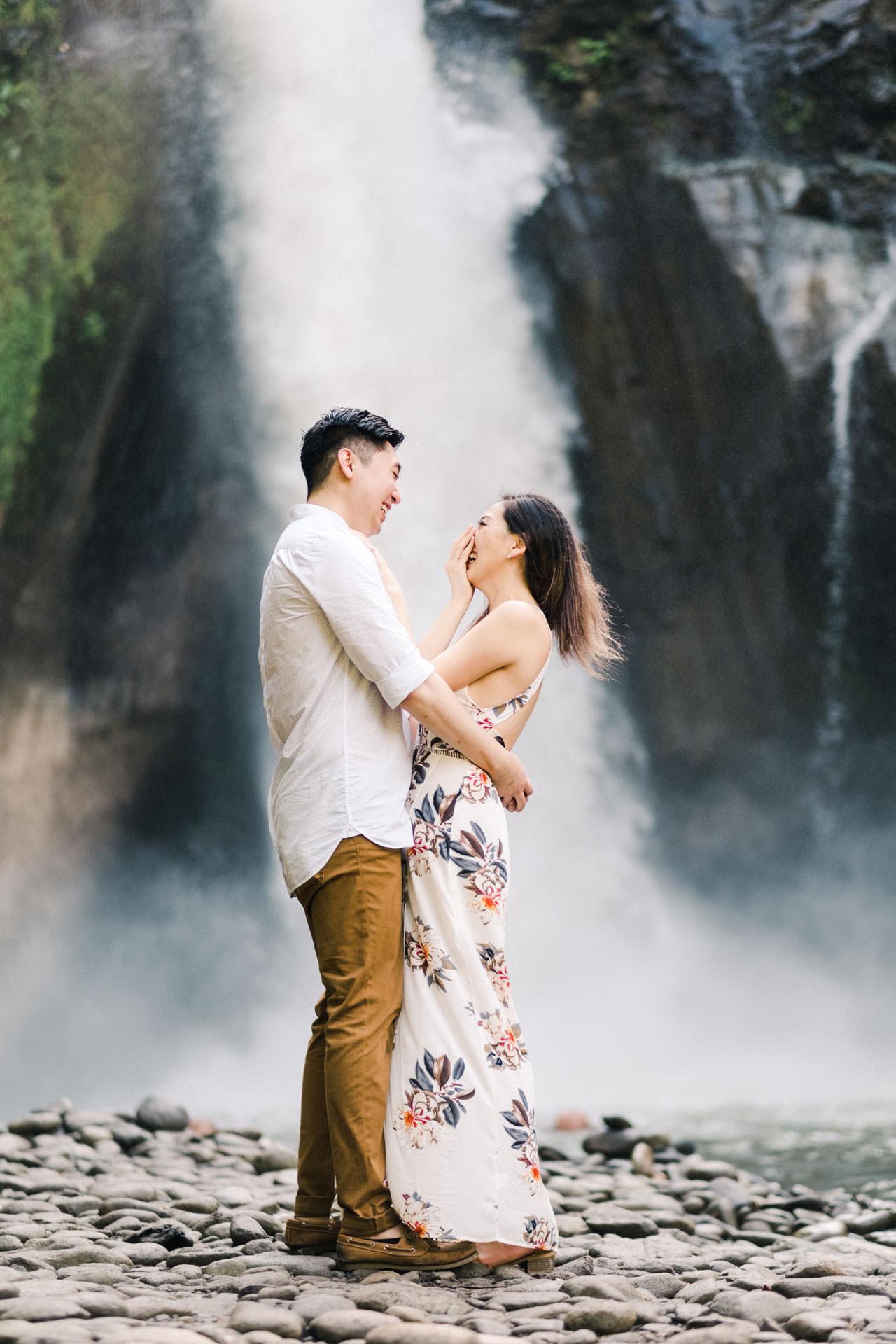 Adventurous Waterfall Surprise Proposal - Bali Vacation Proposal Ideas 16