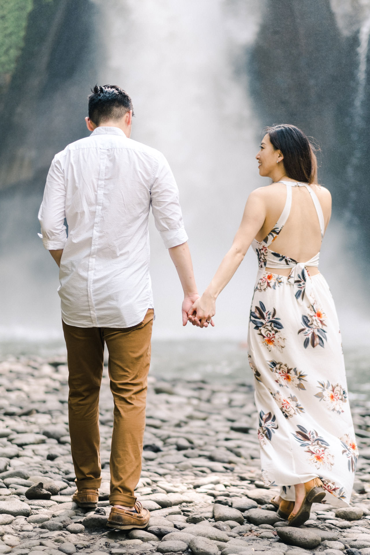 Adventurous Waterfall Surprise Proposal - Bali Vacation Proposal Ideas 21