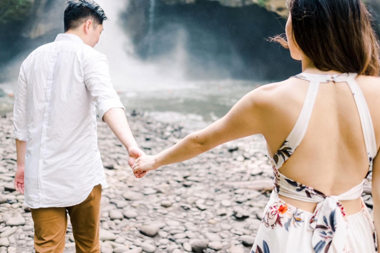 Adventurous Waterfall Surprise Proposal - Bali Vacation Proposal Ideas 23