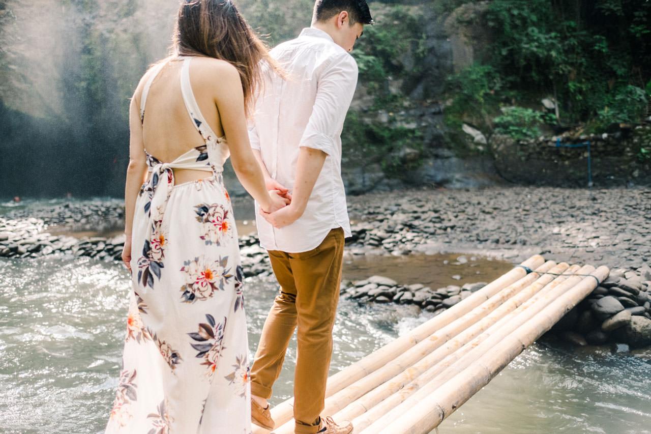 Adventurous Waterfall Surprise Proposal - Bali Vacation Proposal Ideas 25