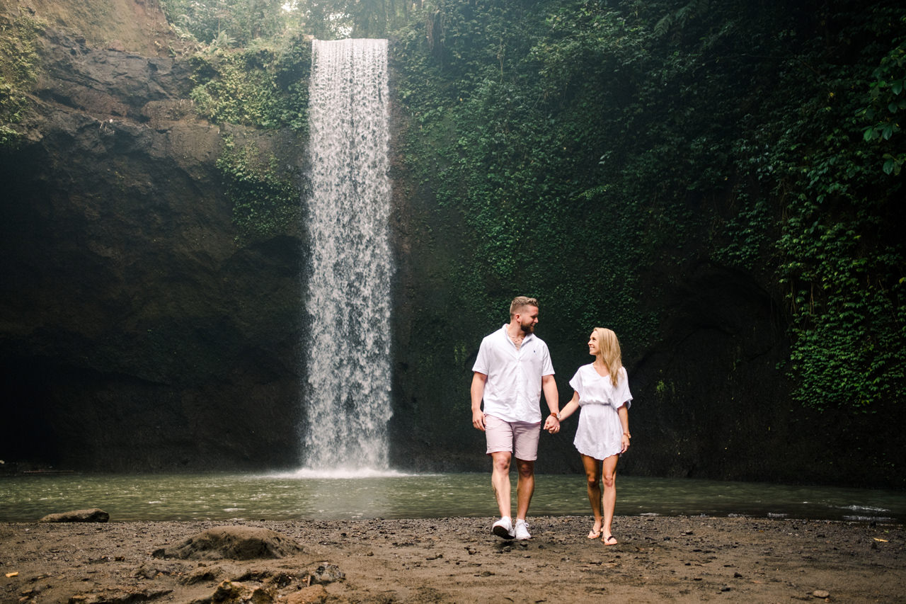 D&K: Tibumana Waterfall Bali Surprise Proposal 1