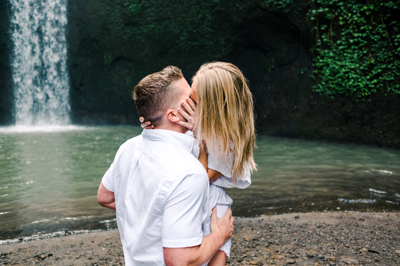 D&K: Tibumana Waterfall Bali Surprise Proposal 6