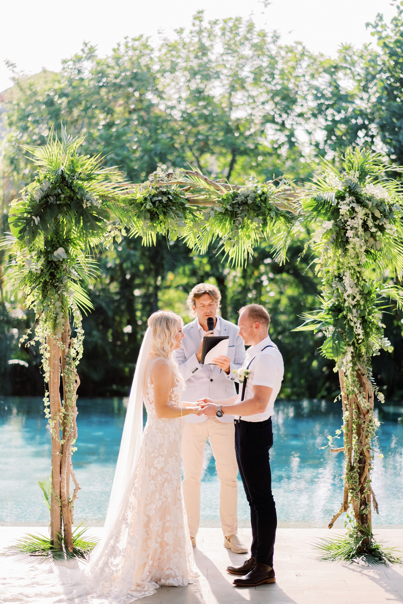 Elegant Tropical Bali Wedding