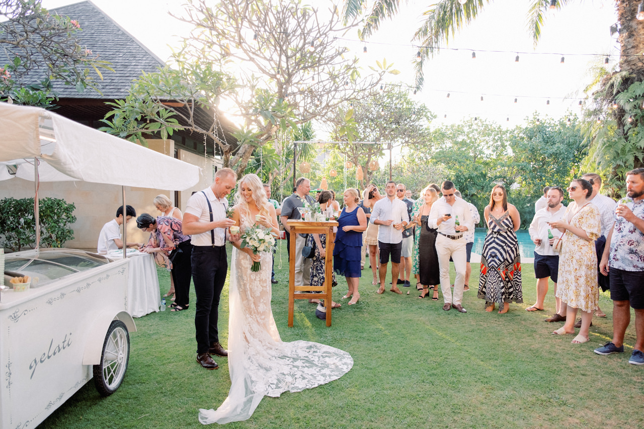 D&L: Canggu Wedding at Bendega Villas 48