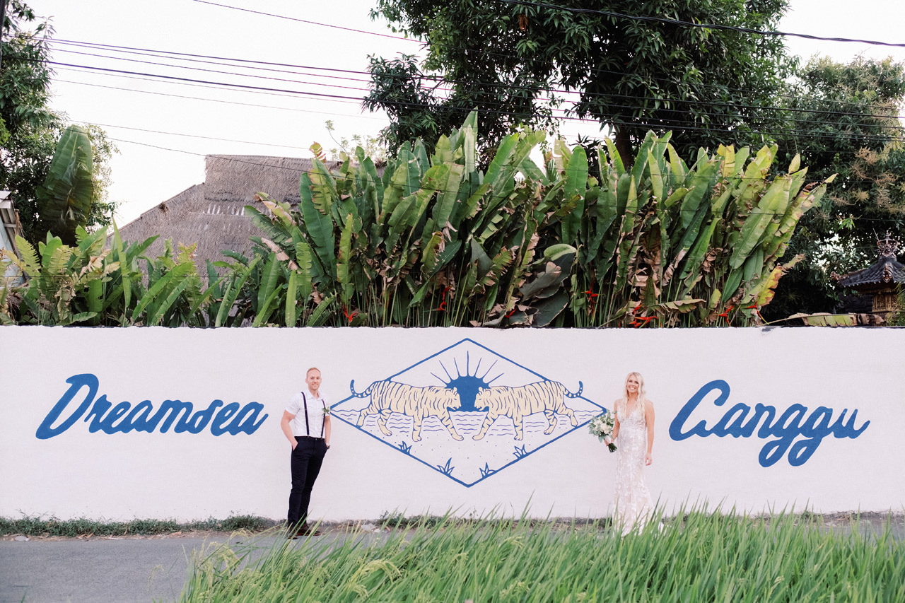D&L: Canggu Wedding at Bendega Villas 56