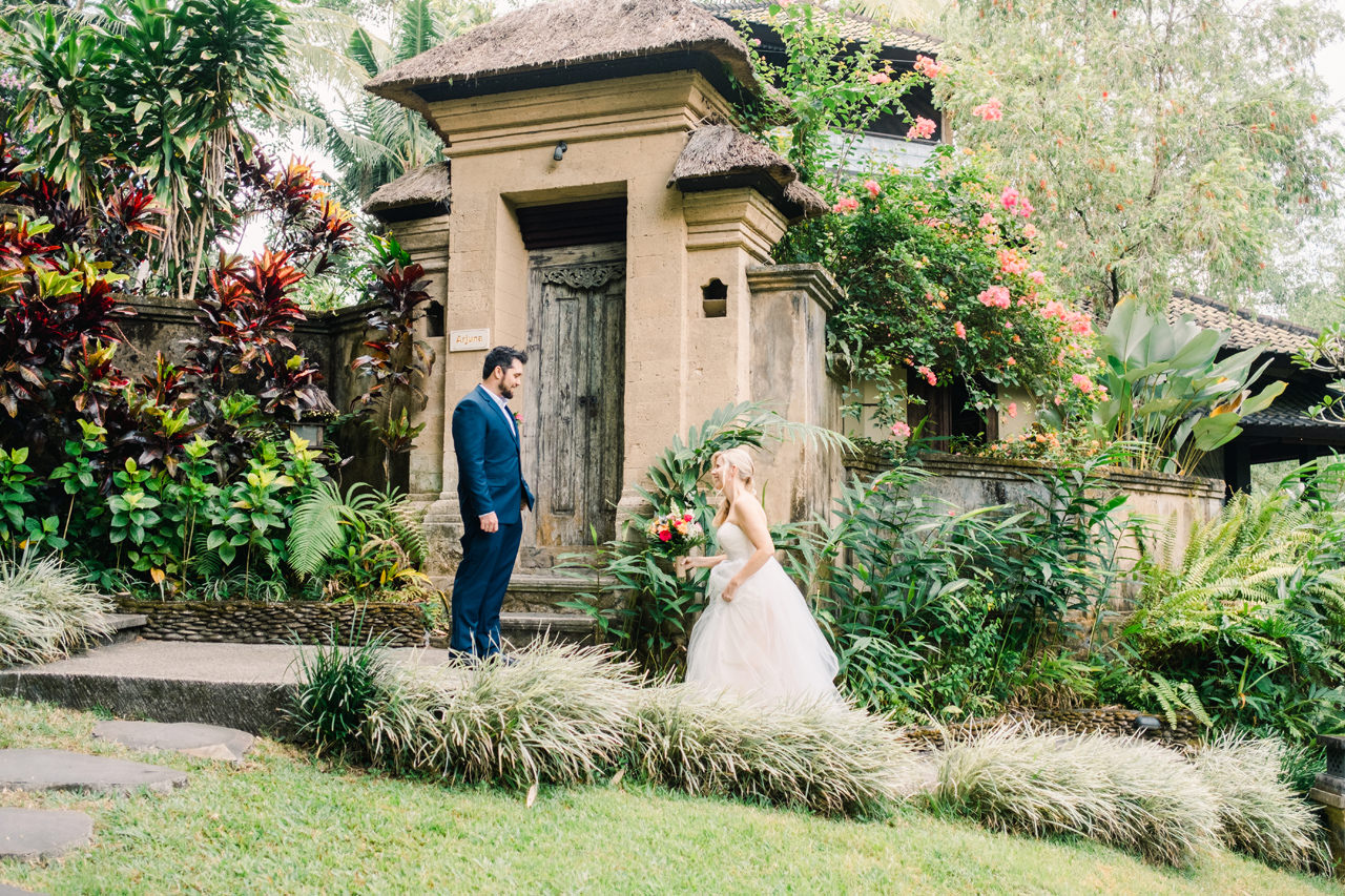M&D: Greenery Ubud Wedding at Villa Beji Indah 9