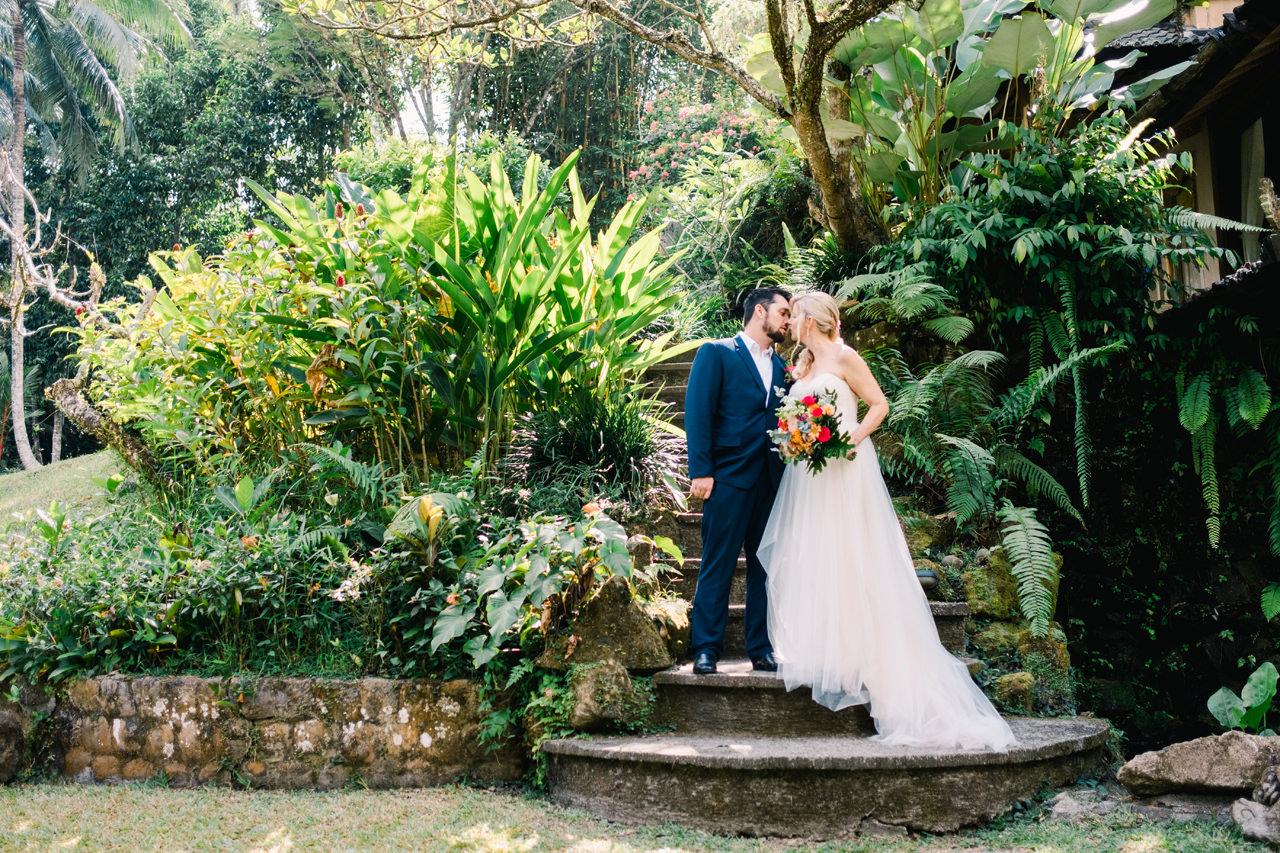 M&D: Greenery Ubud Wedding at Villa Beji Indah 11