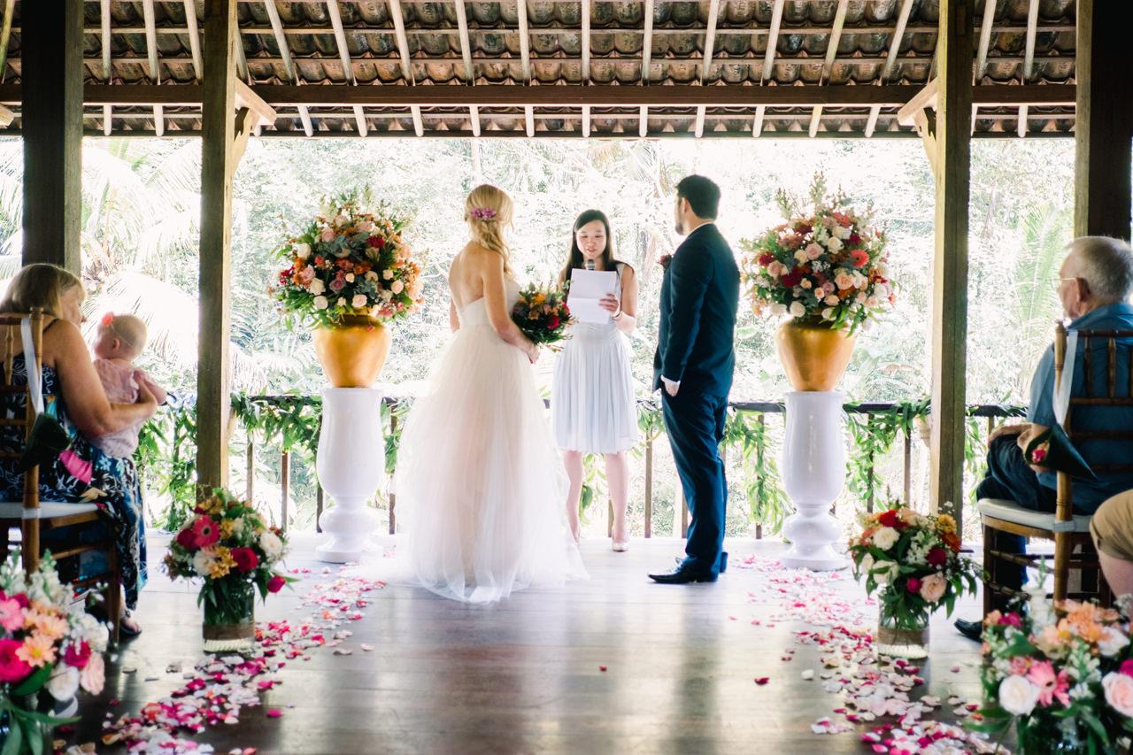 M&D: Greenery Ubud Wedding at Villa Beji Indah 13