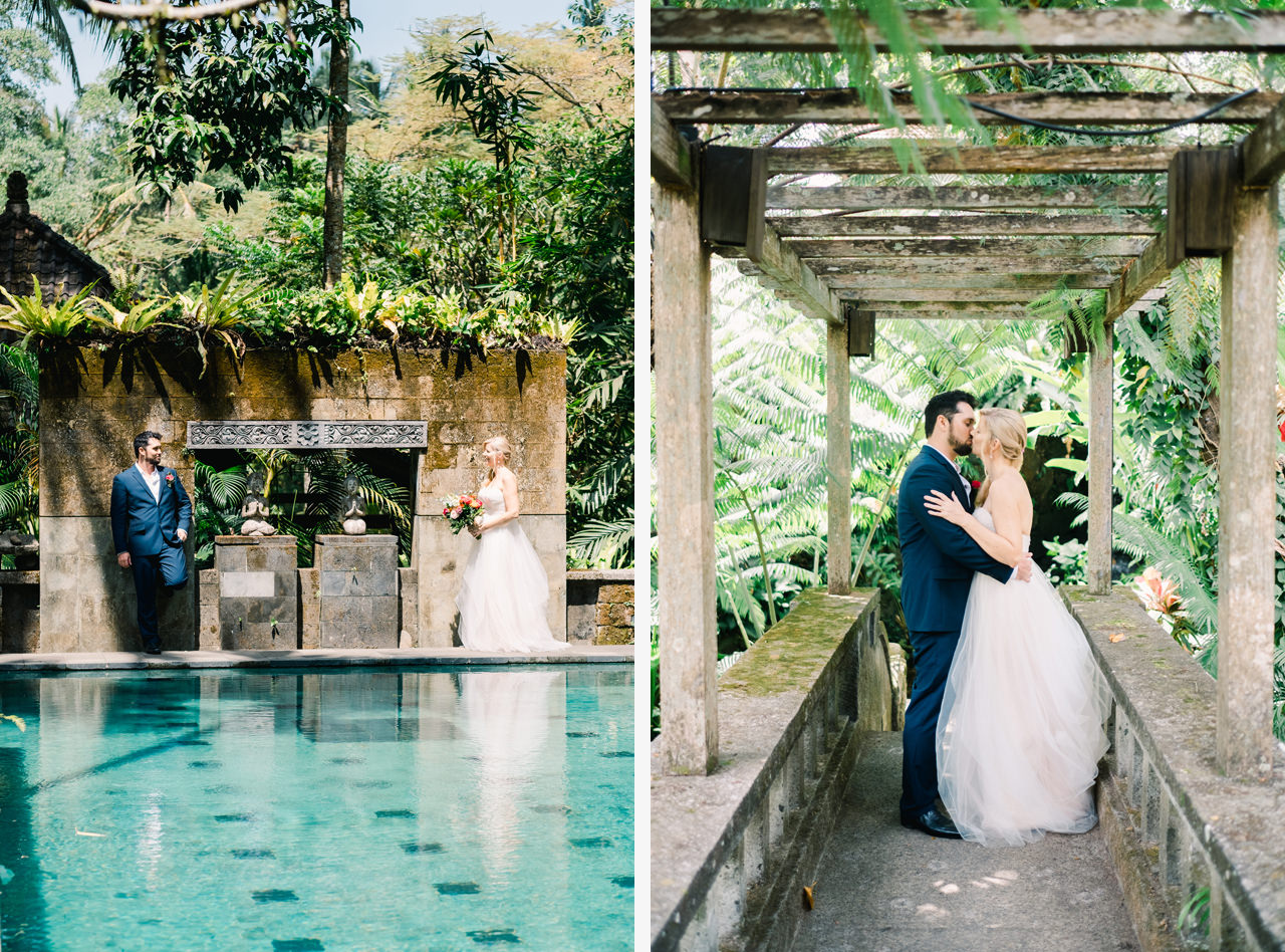 M&D: Greenery Ubud Wedding at Villa Beji Indah 15