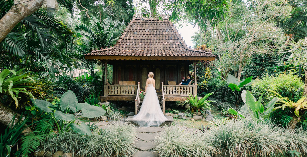 M&D: Greenery Ubud Wedding at Villa Beji Indah 16
