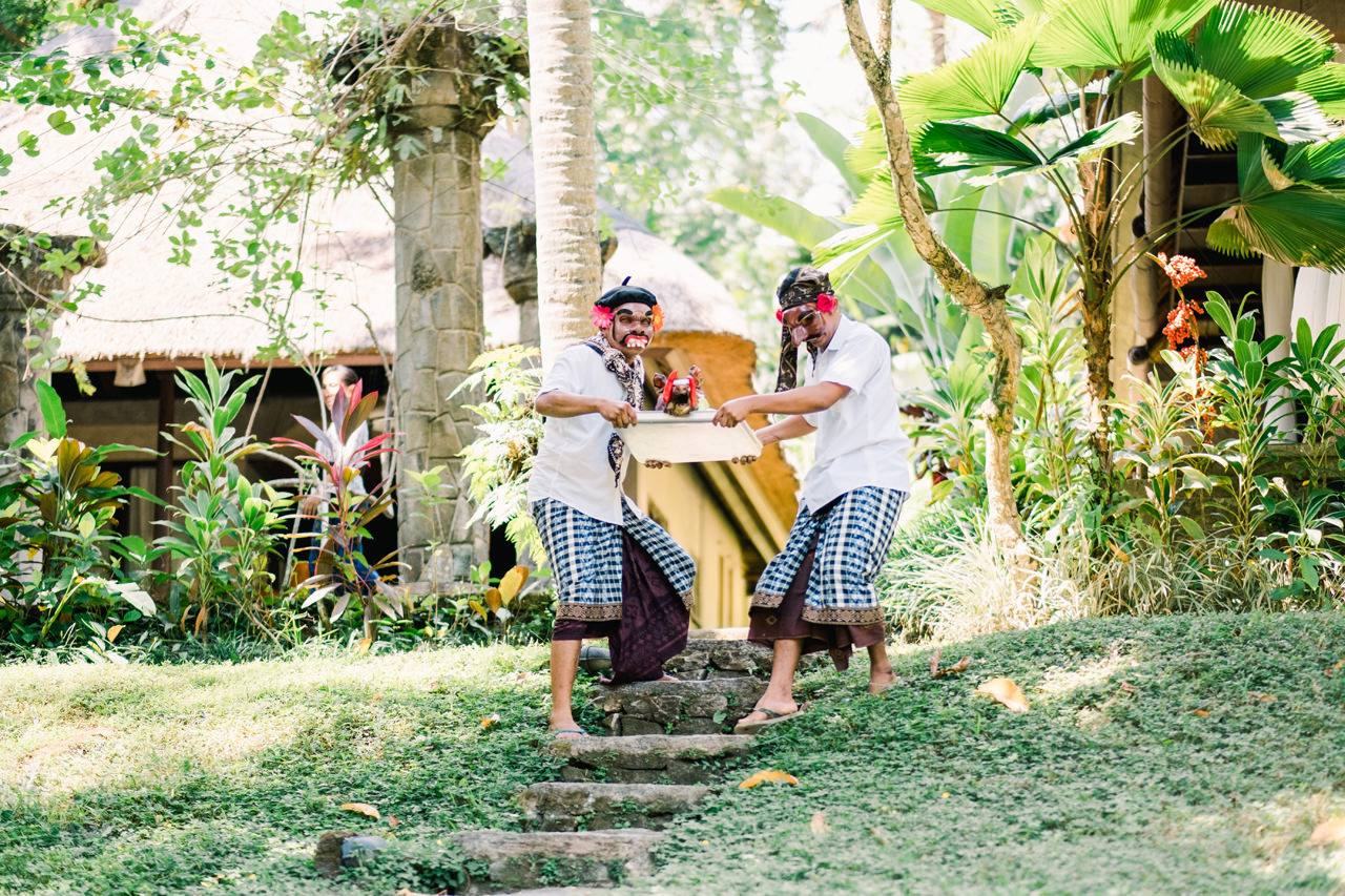 M&D: Greenery Ubud Wedding at Villa Beji Indah 22