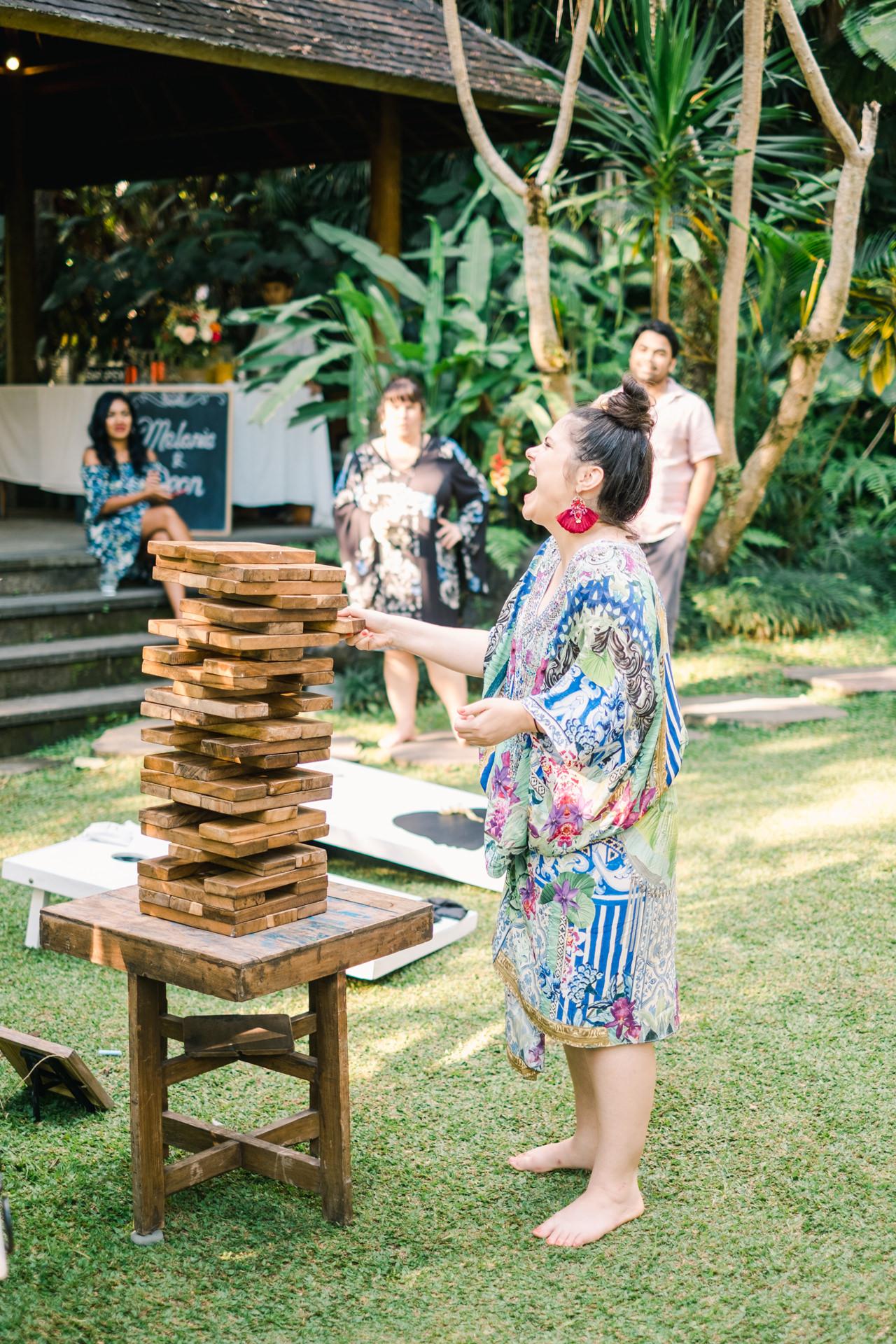 M&D: Greenery Ubud Wedding at Villa Beji Indah 25