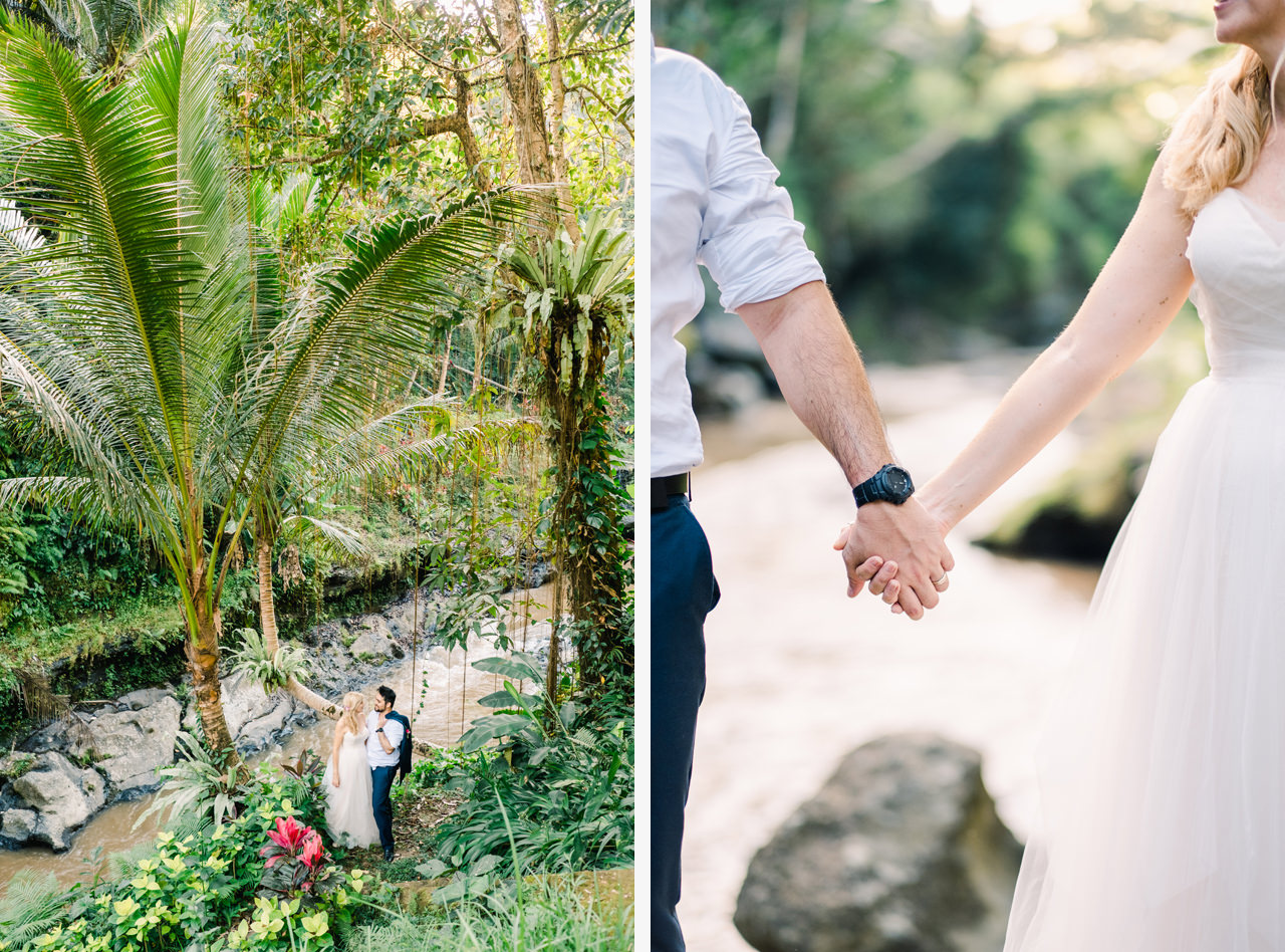 M&D: Greenery Ubud Wedding at Villa Beji Indah 26