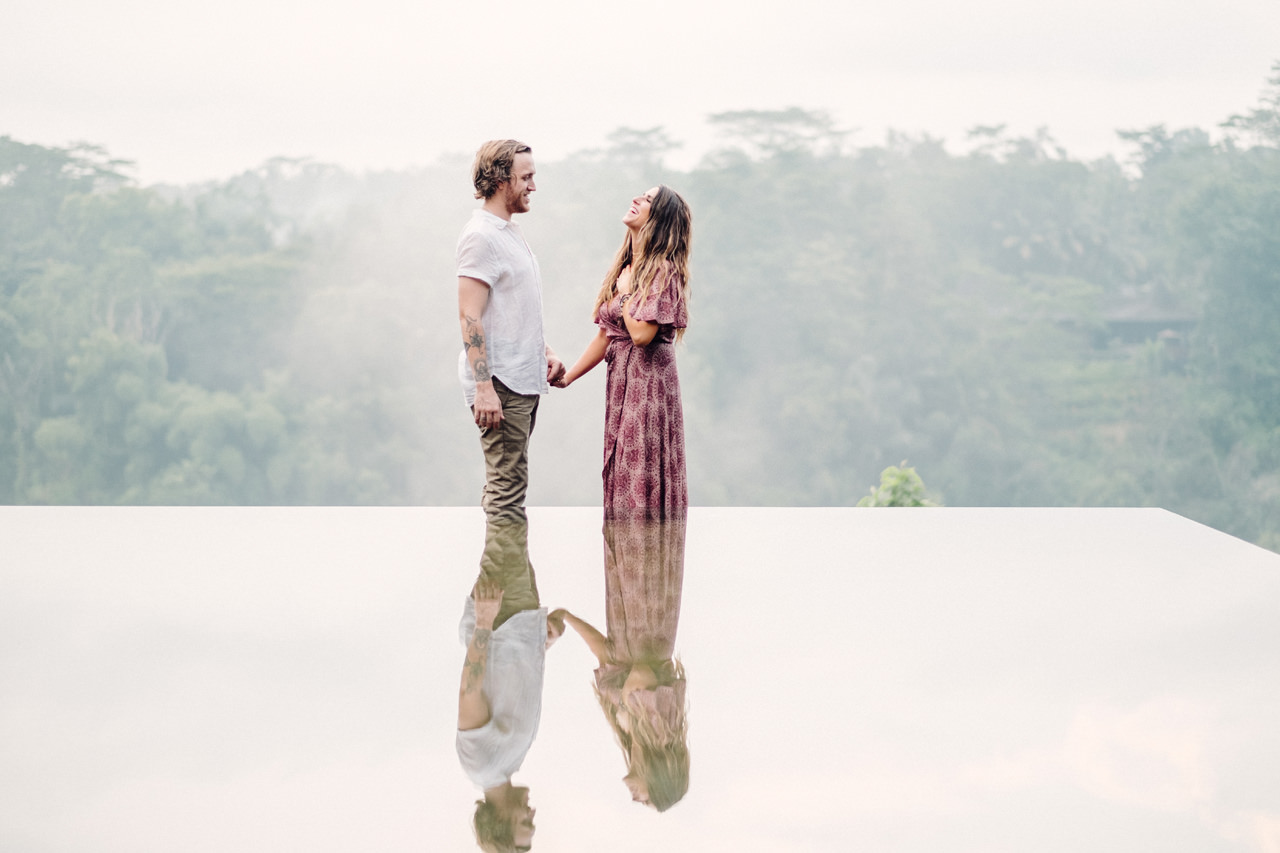 D&O: Kupu Kupu Barong Ubud Surprise Proposal Photography 4