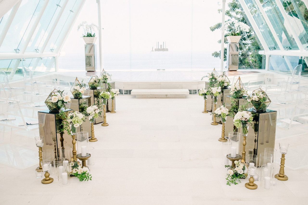 D&R: Luxury Bali Wedding Reception at The Glass House by Tirtha 5