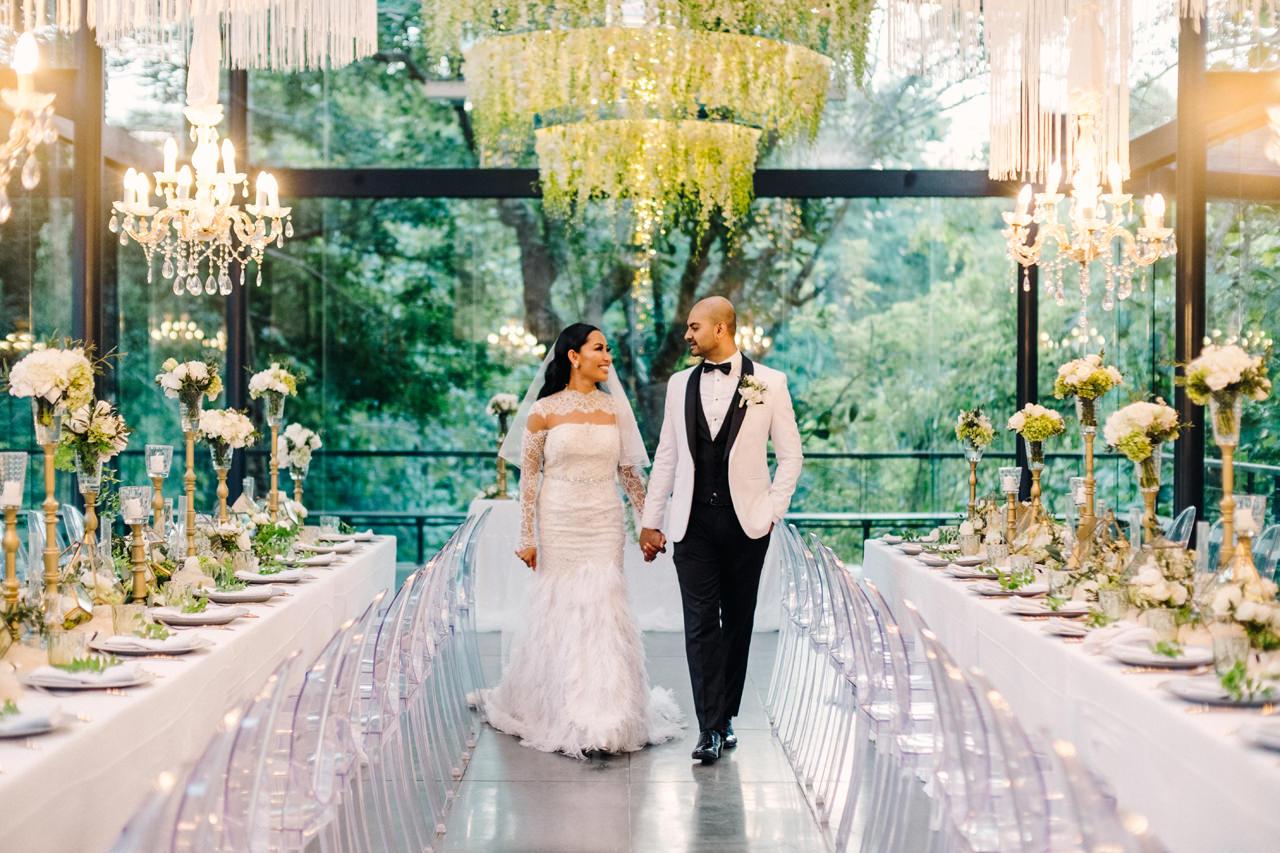 D&R: Luxury Bali Wedding Reception at The Glass House by Tirtha 22