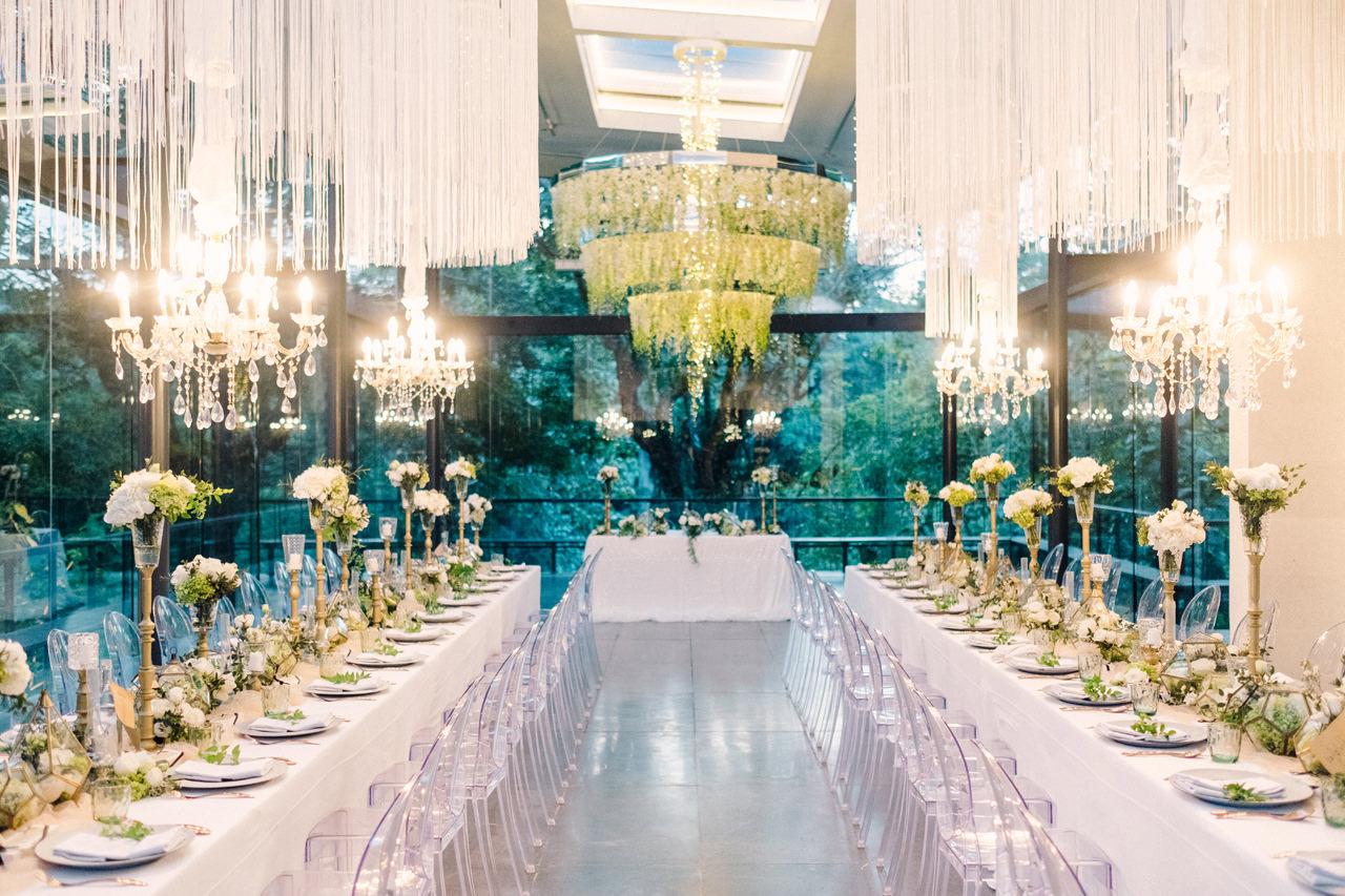 D&R: Luxury Bali Wedding Reception at The Glass House by Tirtha 24