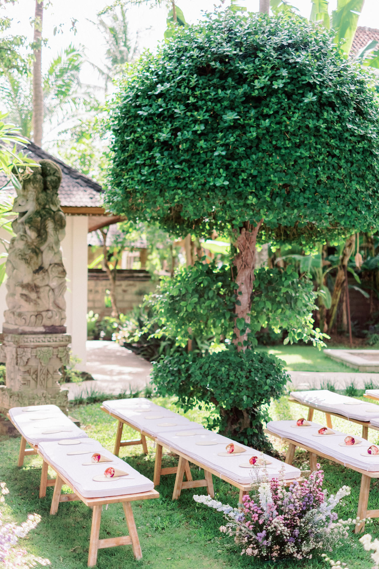 Whimsical Bali Forest Wedding at Puri Nirwana  28