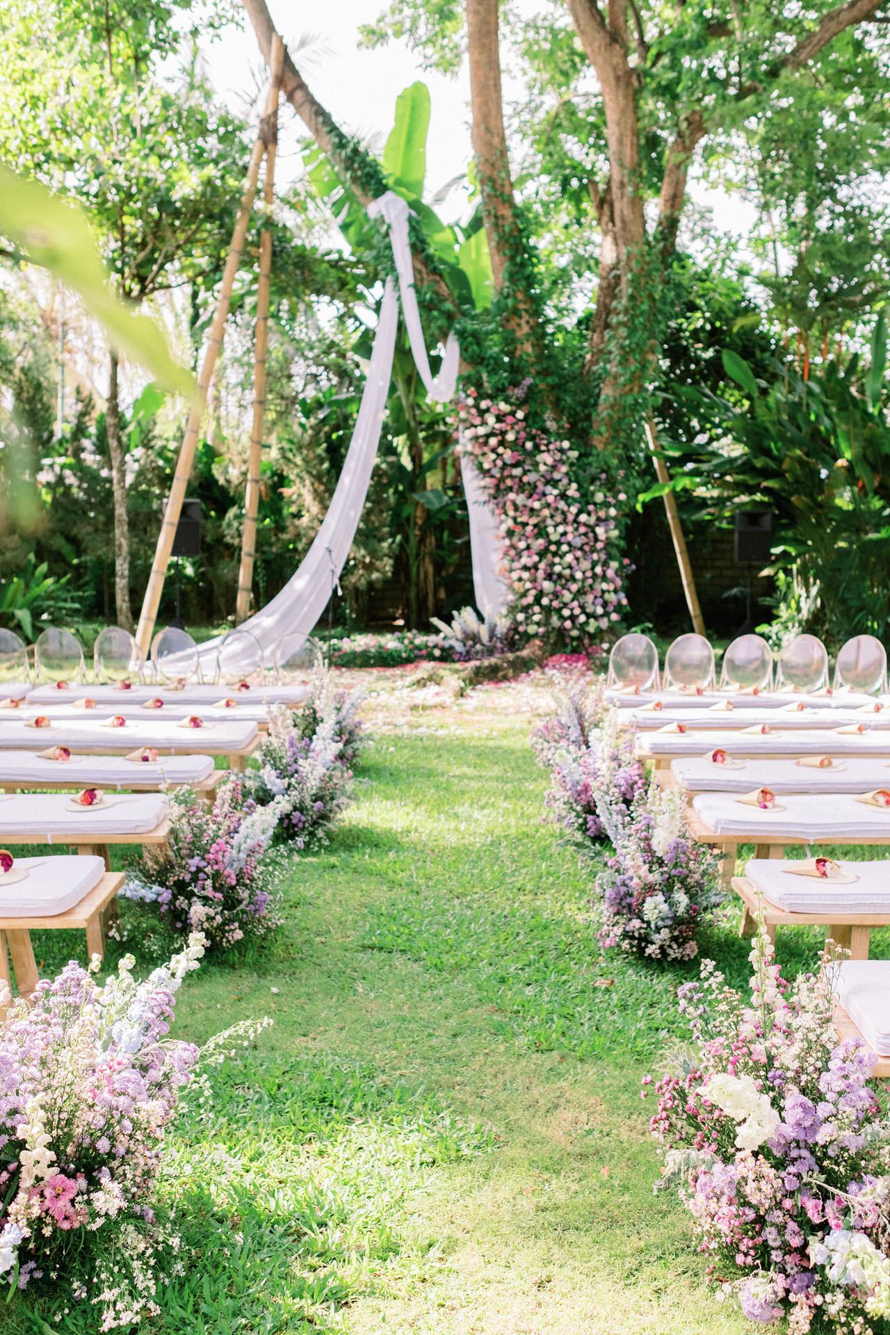 Whimsical Bali Forest Wedding at Puri Nirwana  30