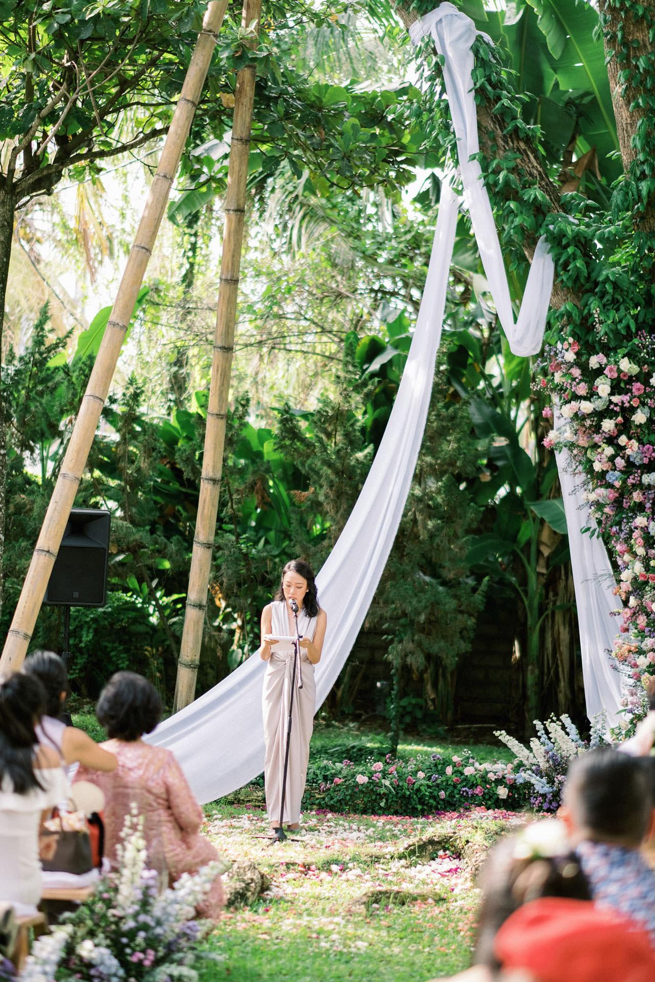 Whimsical Bali Forest Wedding at Puri Nirwana  35