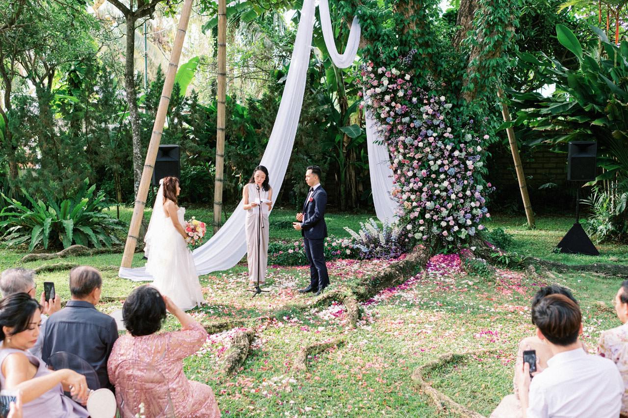 Whimsical Bali Forest Wedding at Puri Nirwana  36