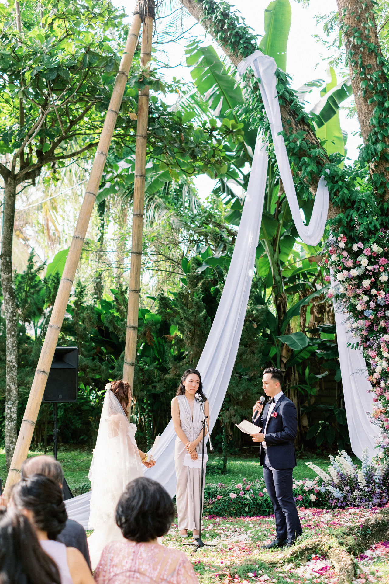Whimsical Bali Forest Wedding at Puri Nirwana  37