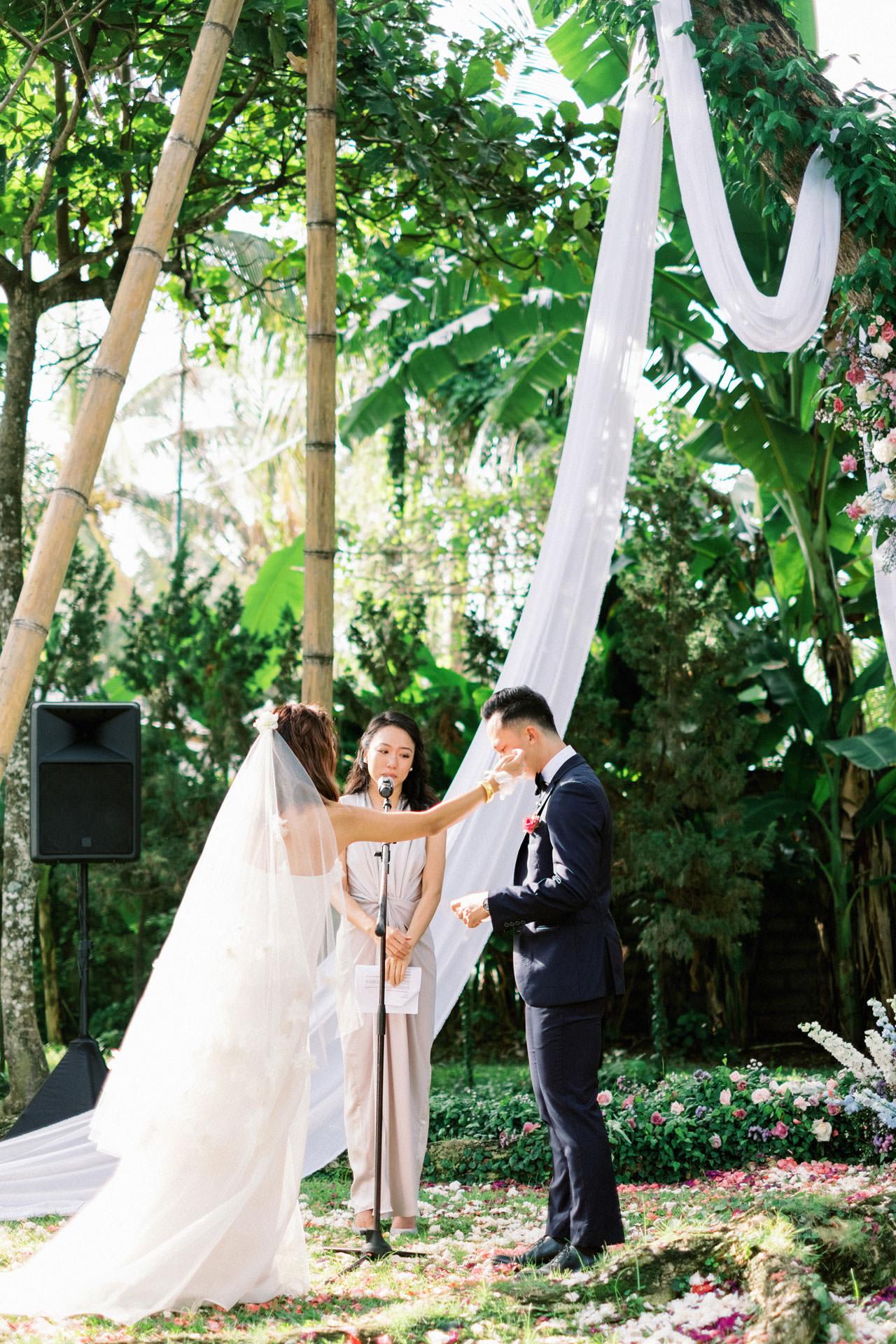 Whimsical Bali Forest Wedding at Puri Nirwana  38